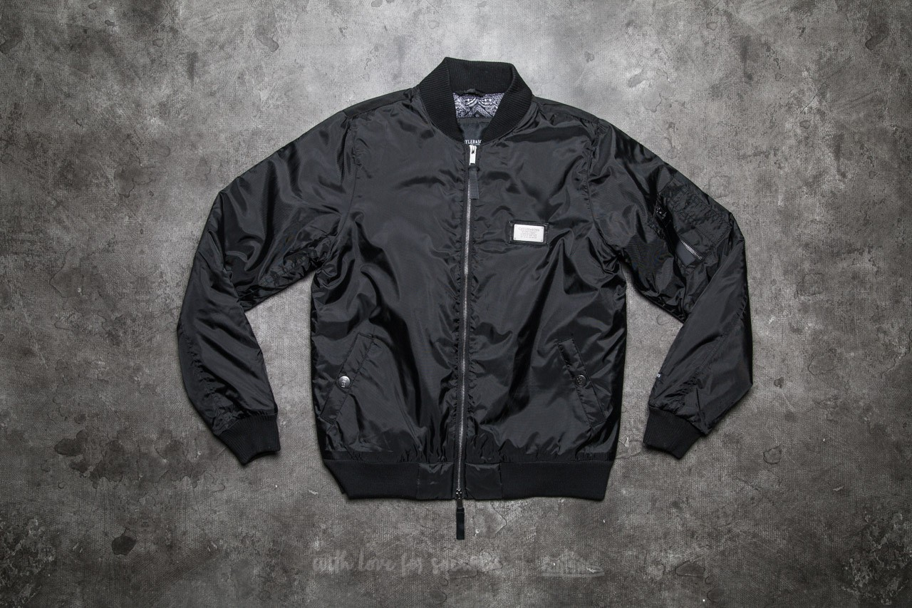 Cayler & Sons BL Paiz Flight Jacket Black/ White