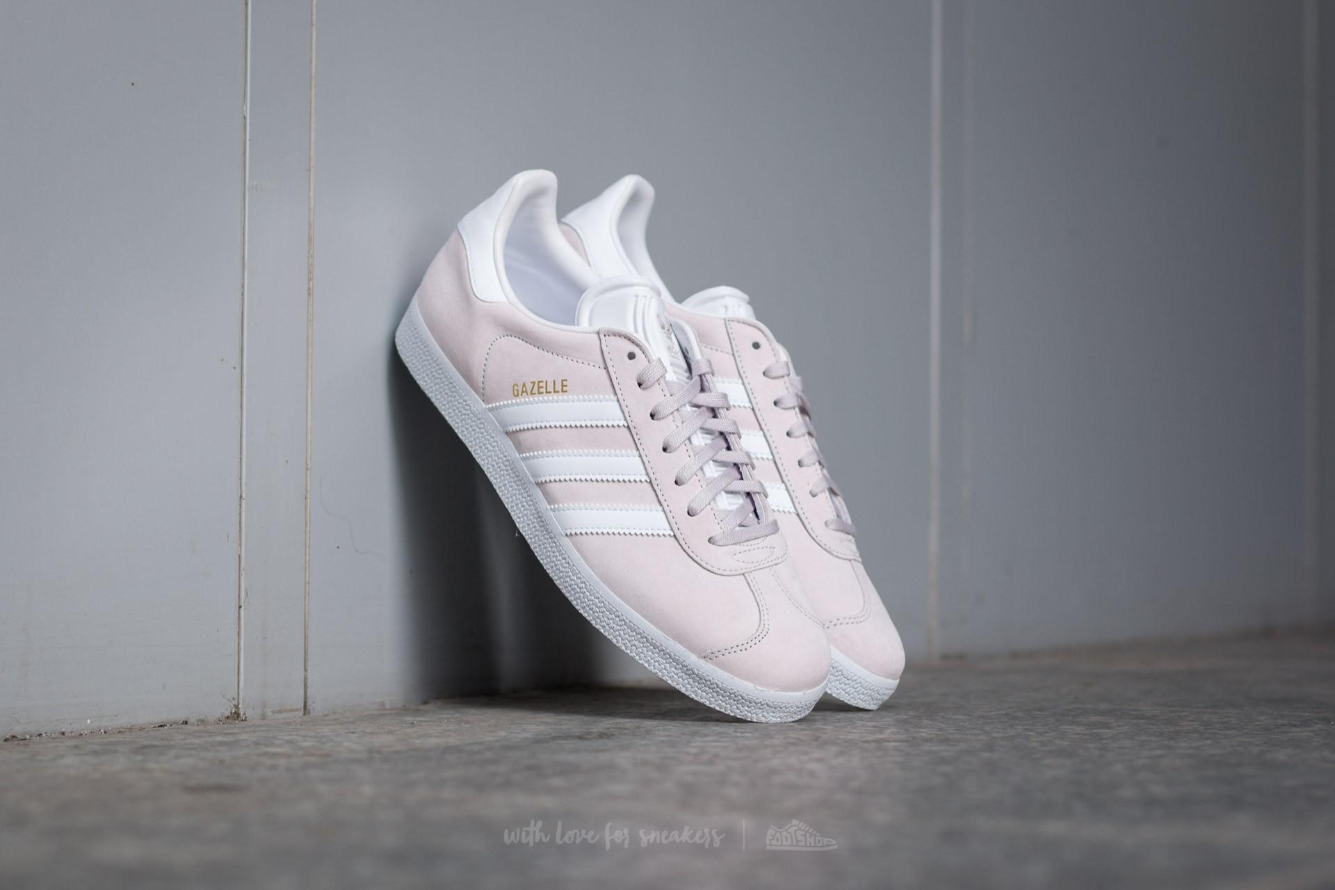 adidas Gazelle Icepur/ White/ Gold Metallic