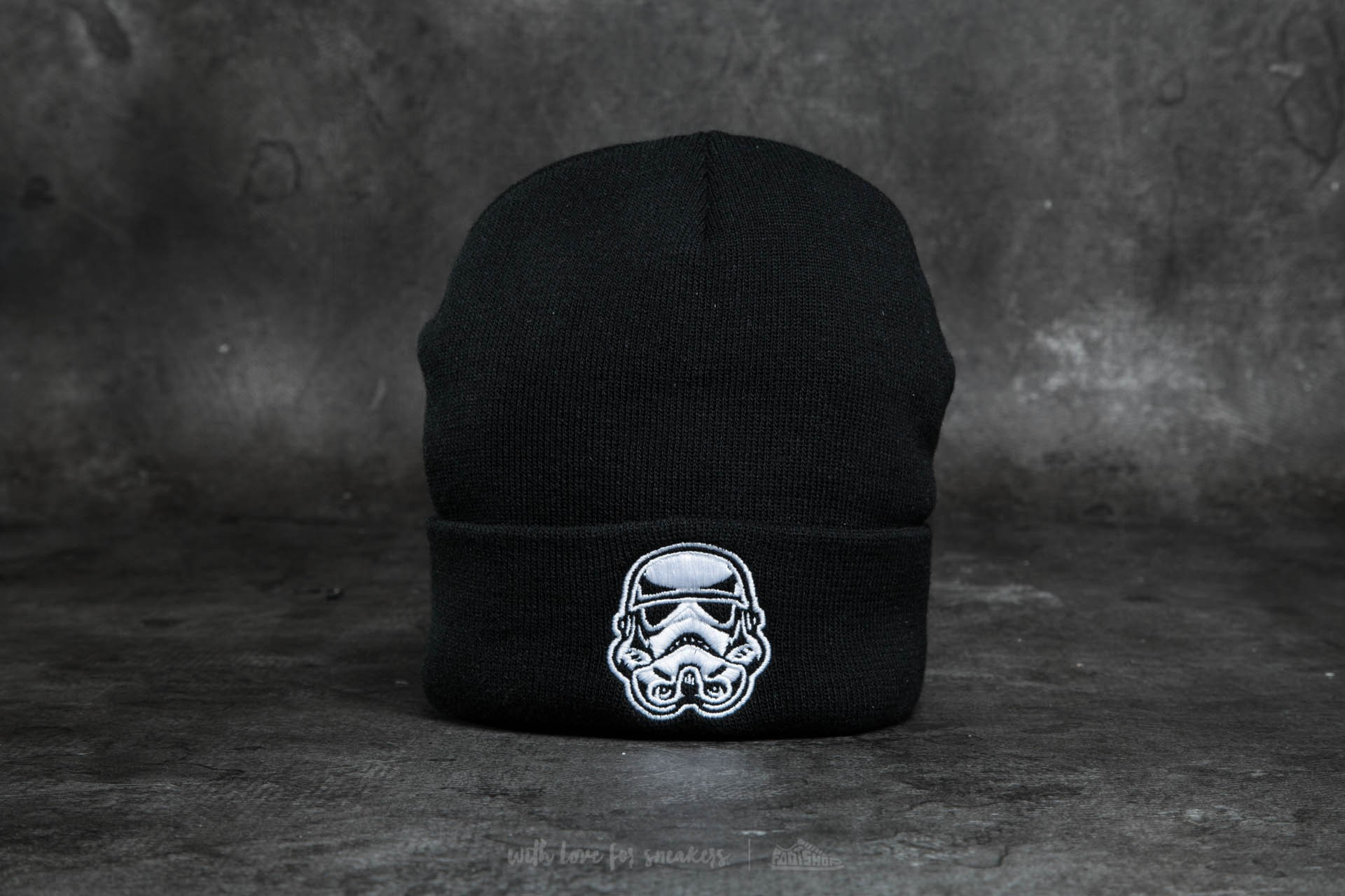 Dedicated x Star Wars Trooper Head Beanie Black