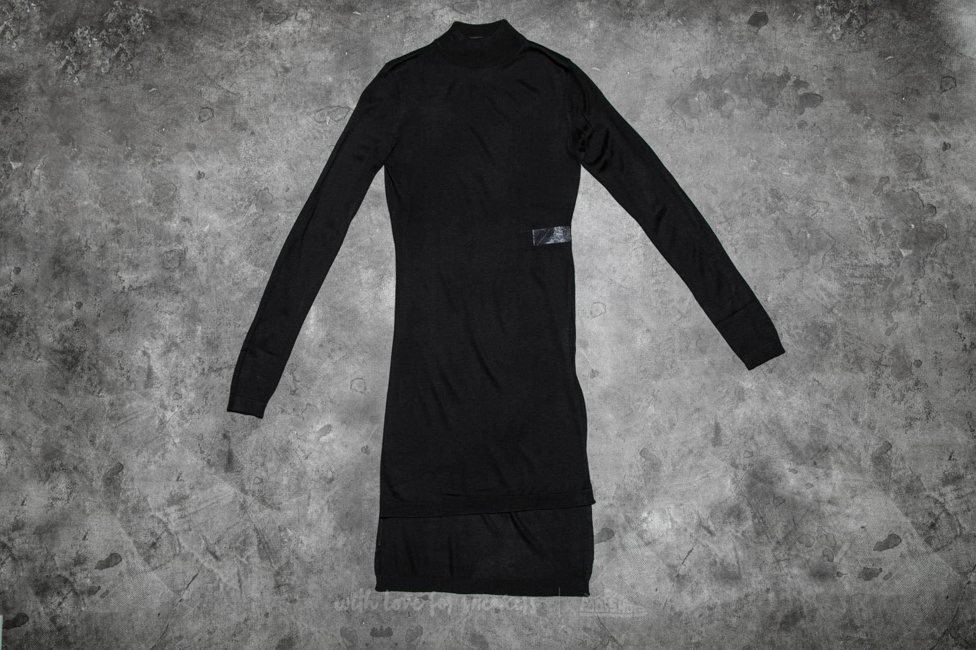 Urban Classics Ladies Fine Knit Turtleneck Long Shirt Black