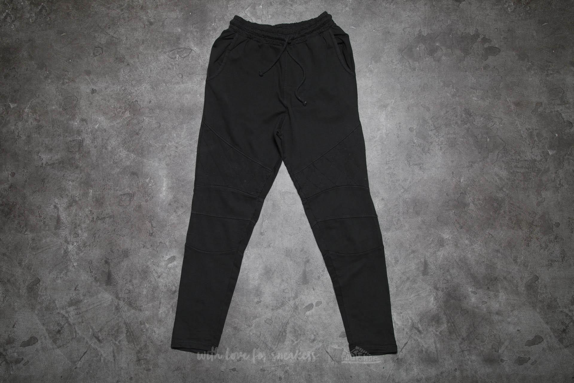Urban Classics Diamond Stitched Pants Black