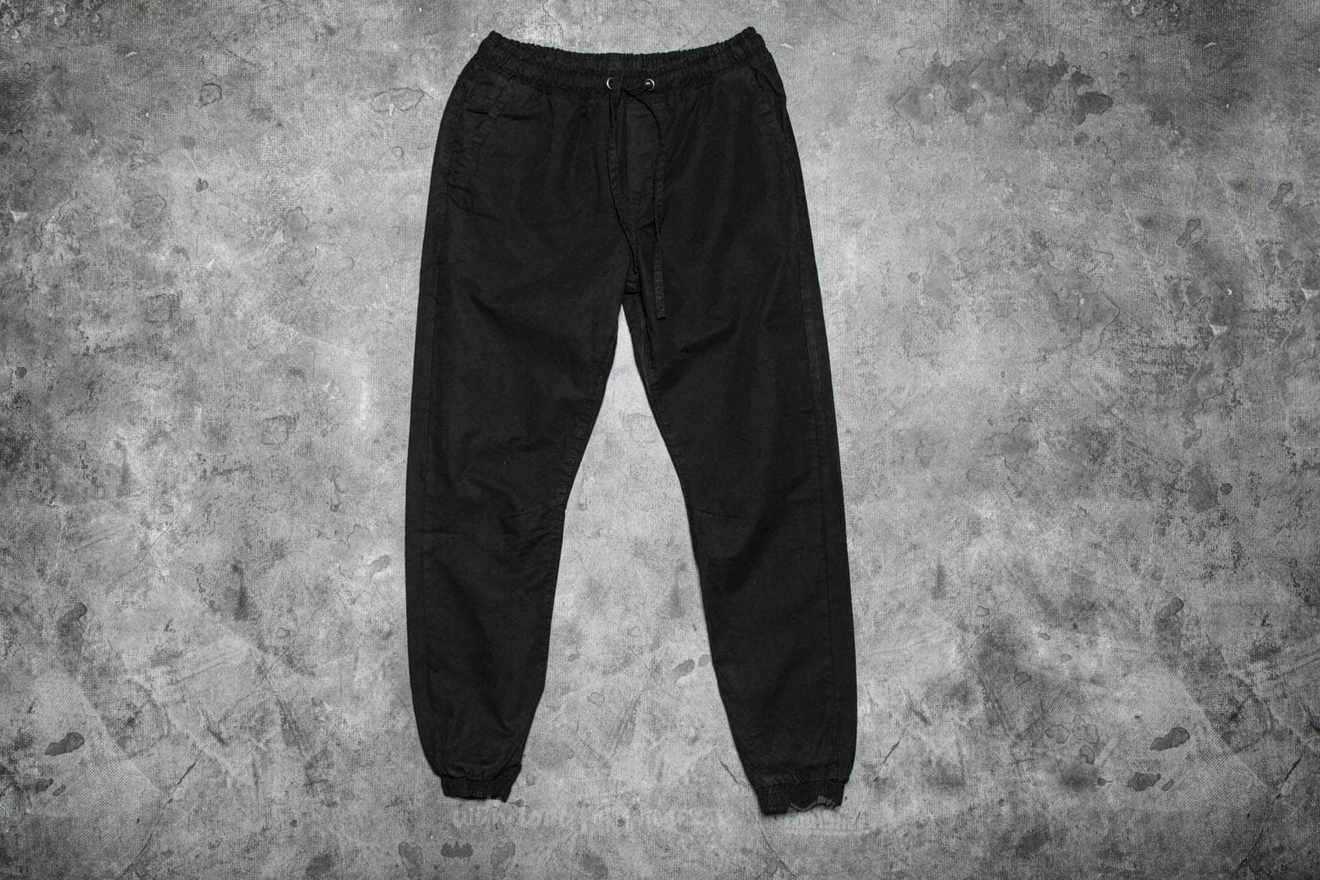 Urban Classics Washed Canvas Jogging Pants Black Footshop – FR