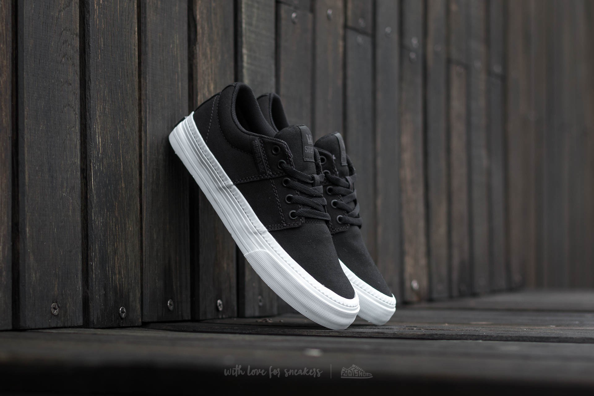 Supra Stacks Vulc II HF Black-White
