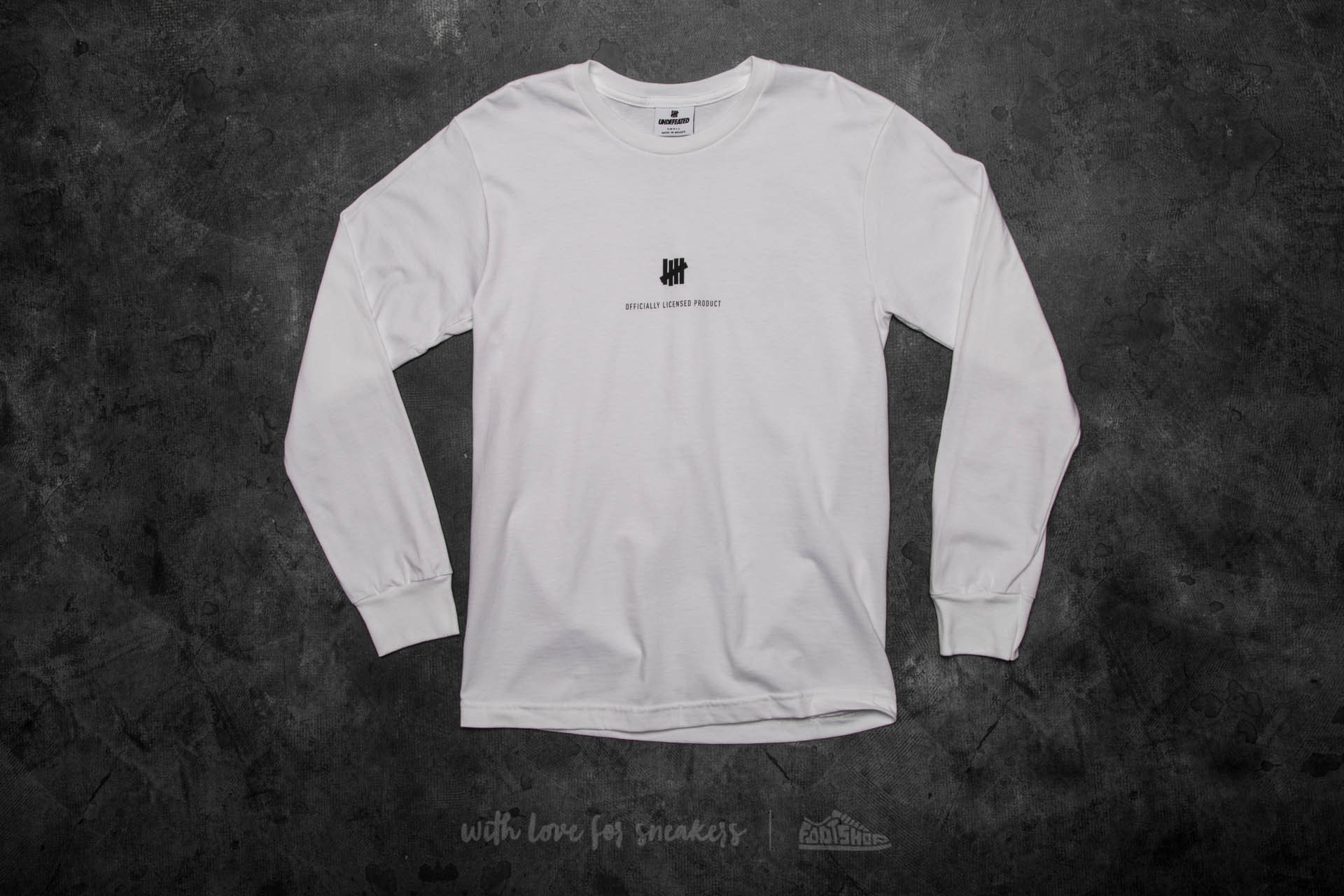 Undefeated Officially Licensed Product Tee White