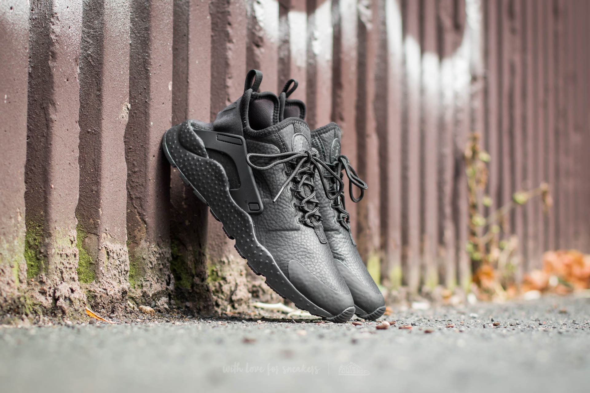 Nike W Air Huarache Run Ultra Premium Black/ Black Footshop – FR