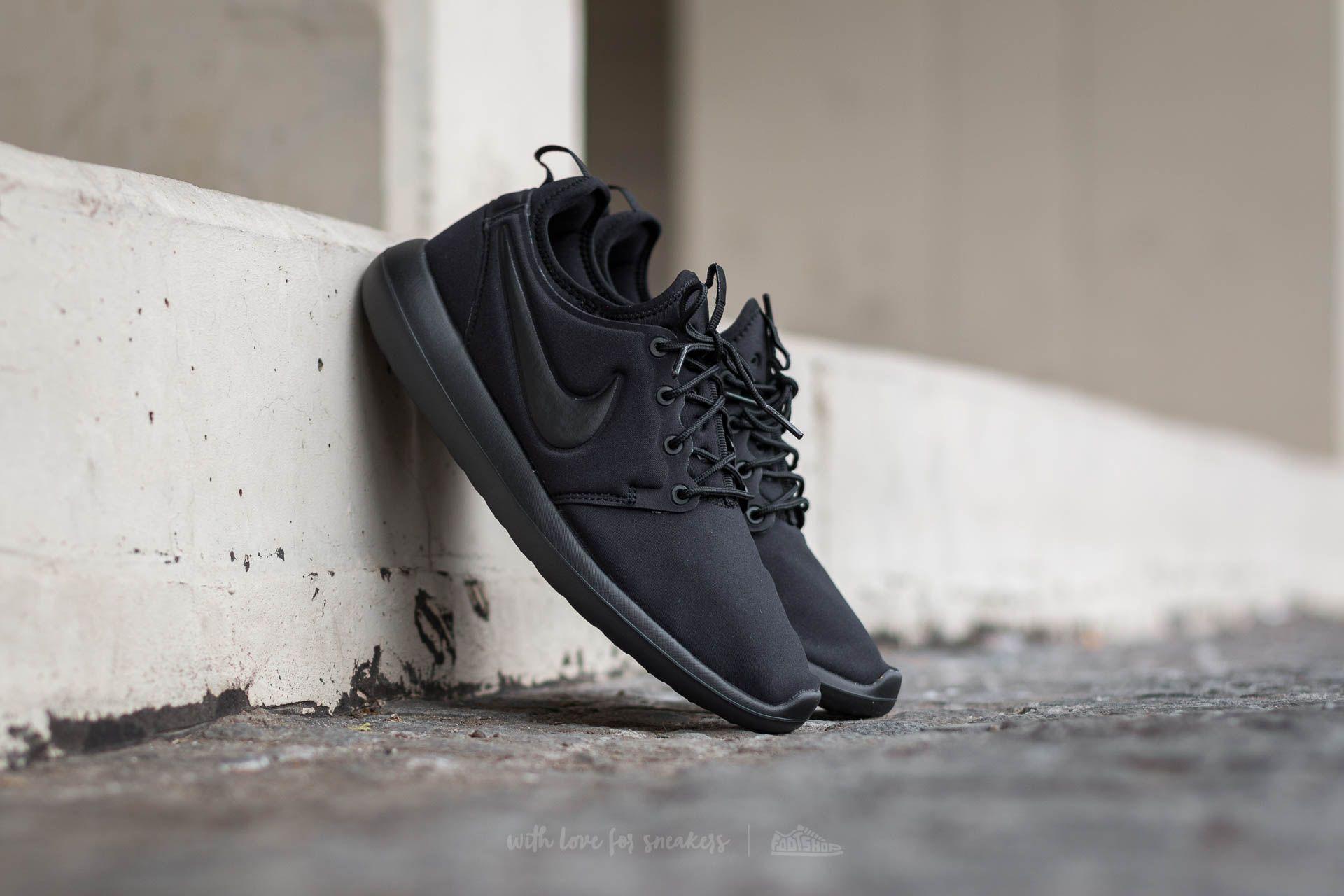 Nike Roshe Two (GS) Black/ Black Footshop – FR