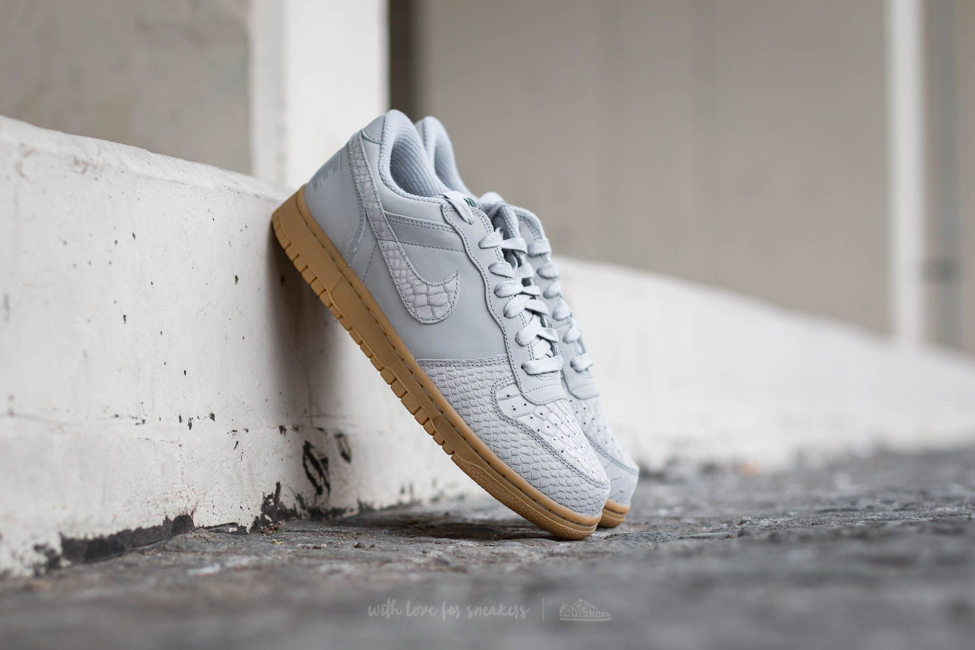 Nike Big Nike Low Lux Wolf Grey/ Wolf Grey-Gum Light Footshop – FR