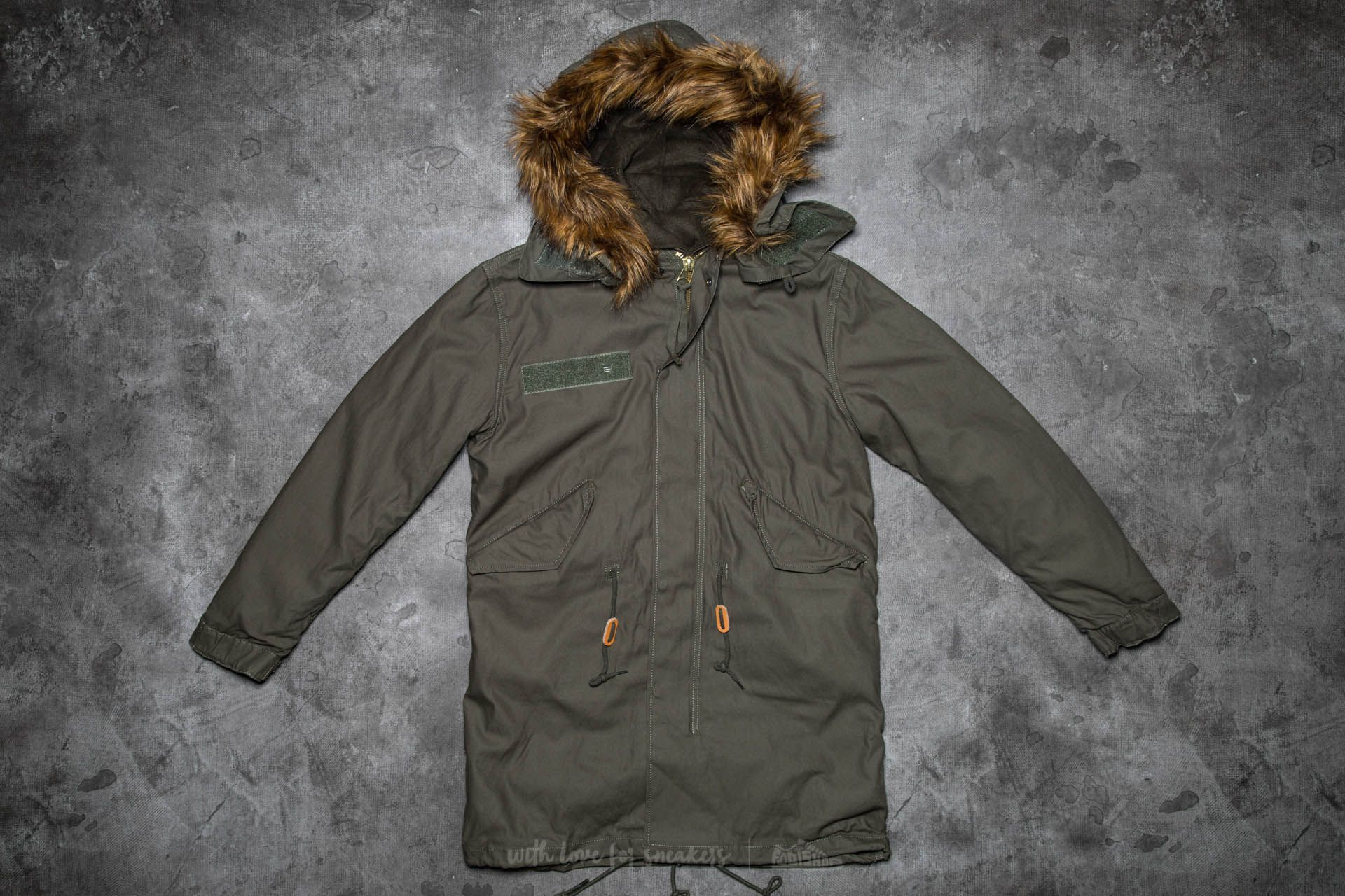 Alpha Industries Vintage Fishtail Olive