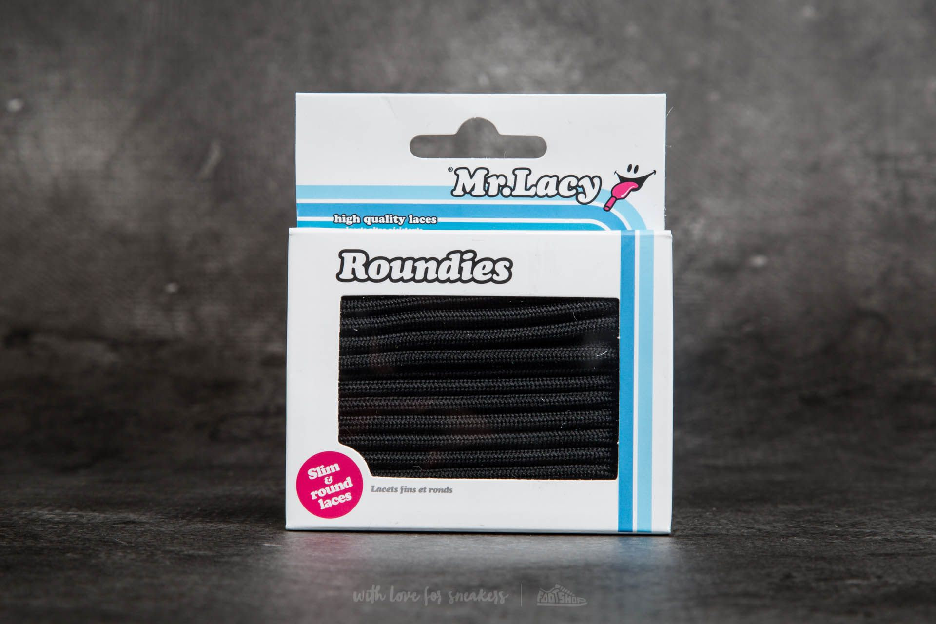 Mr. Lacy Roundies Black Footshop – FR