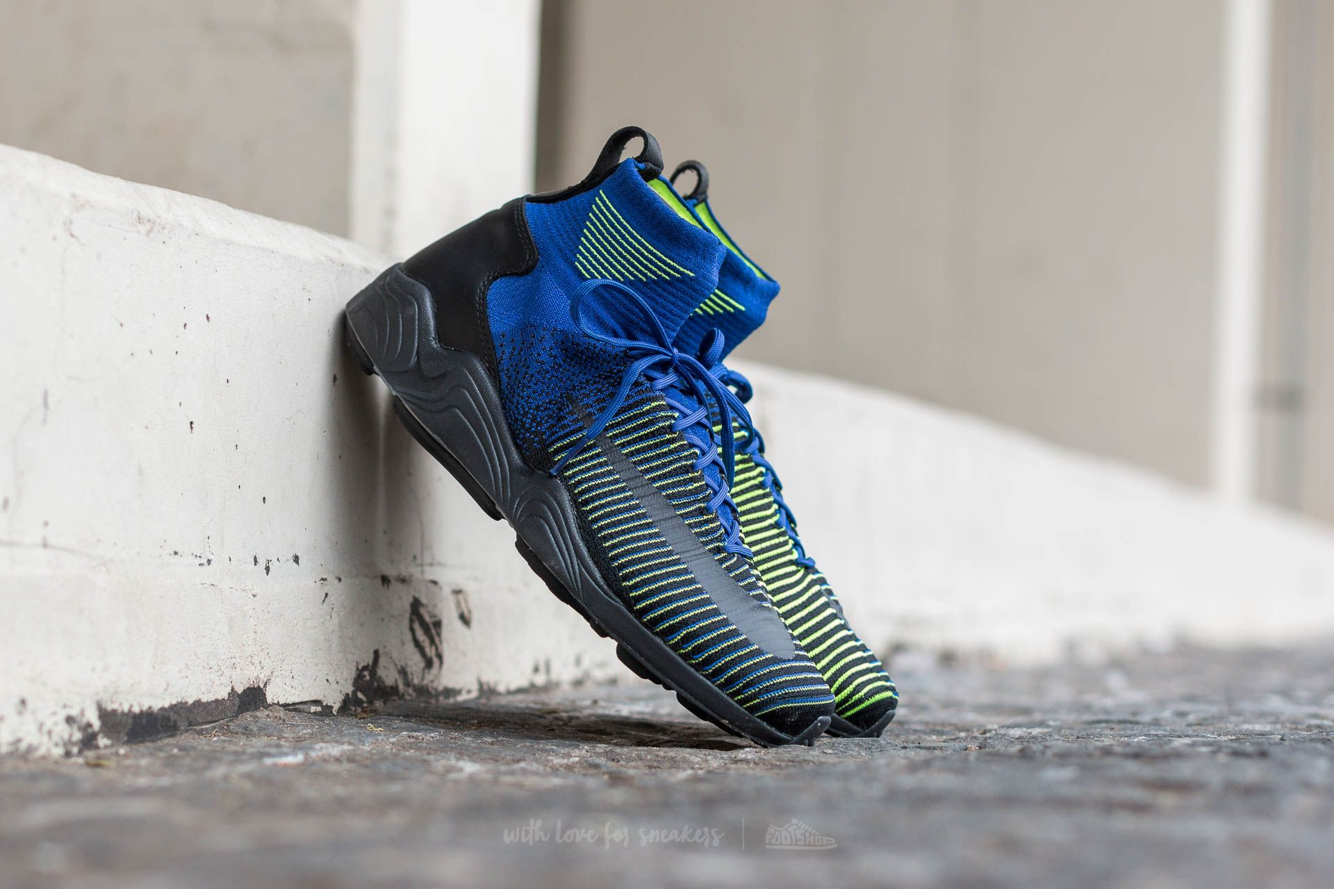 Nike Zoom Mercurial XI Flyknit Deep Royal Blue/ Black-Volt Footshop – FR
