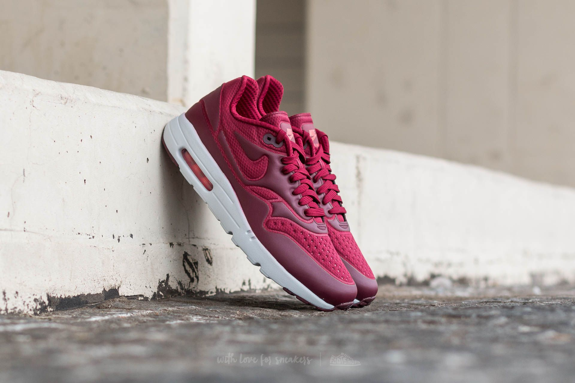 Nike Air Max 1 Ultra SE Team Red/ Team Red-Night Maroon