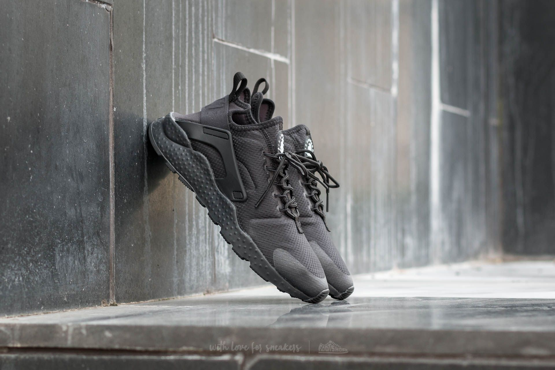 Nike W Air Huarache Run Ultra Black/ Black Footshop – FR