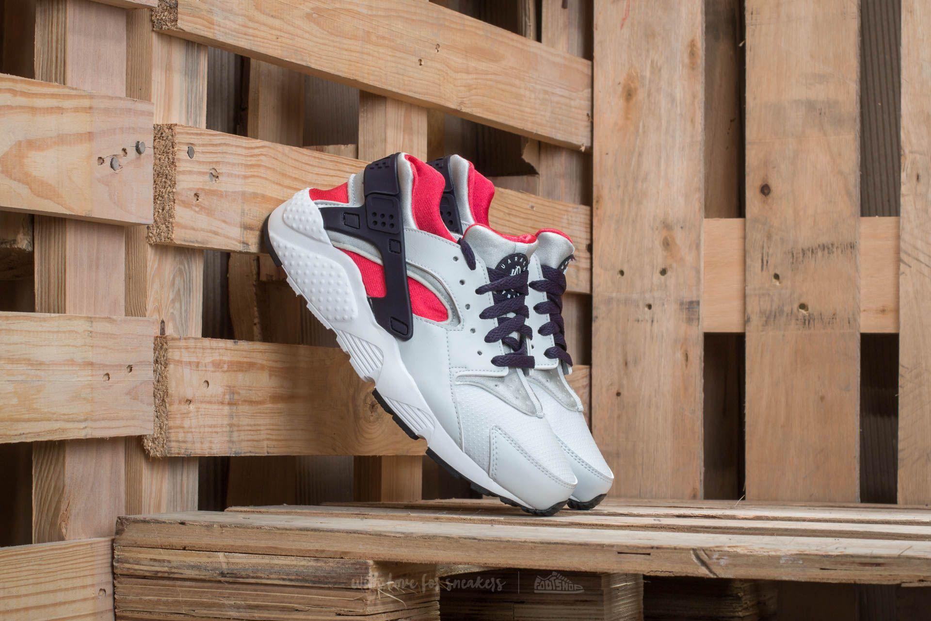 Nike Huarache Run (GS) Pure Platinum/ Purple Dynasty Footshop – FR