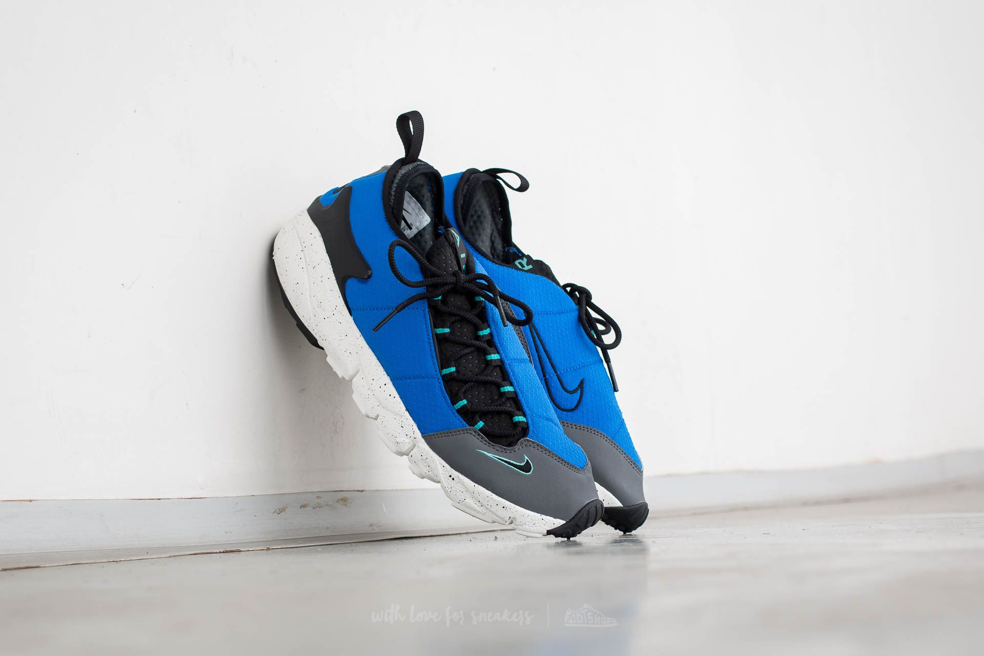 Nike Air Footscape NM Hyper Cobalt/ Black