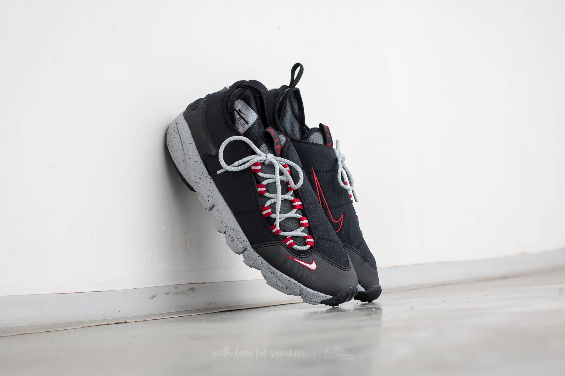 Nike Air Footscape NM Black/ Wolf Grey-Wolf Grey