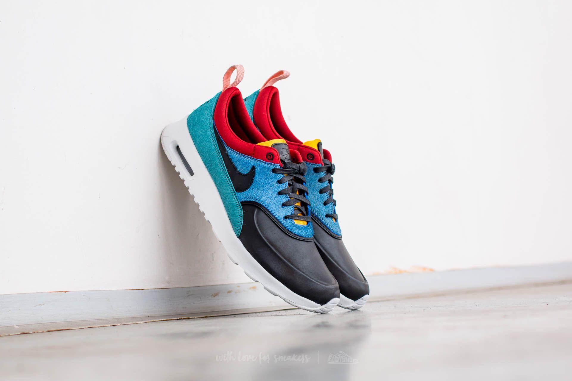 Nike Wmns Air Max Thea Premium Star Blue/ Black-Dark Cayenne