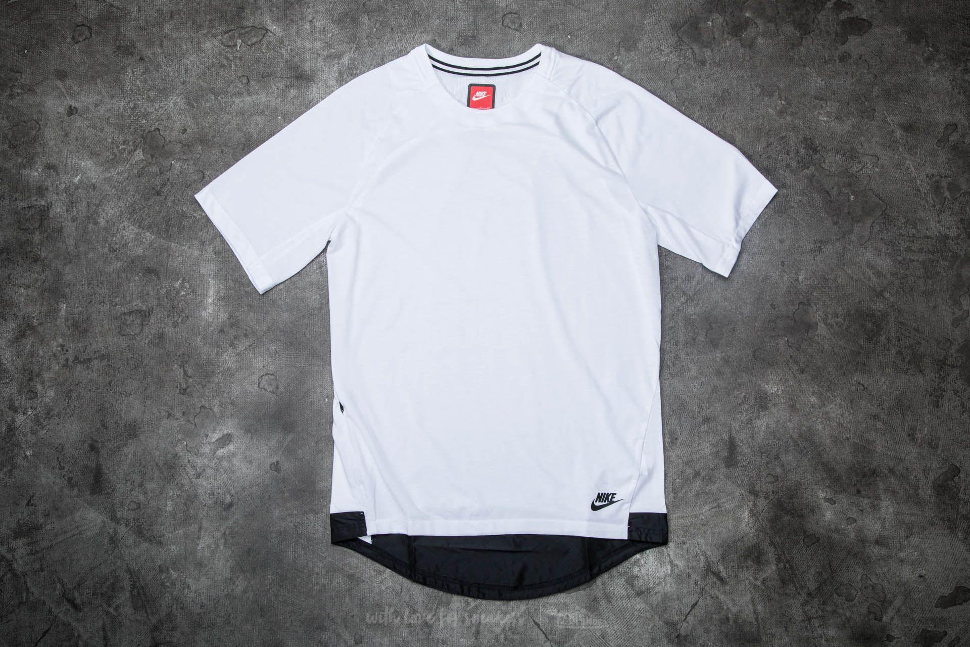 Nike Sportwear Bonded Short Sleeve Top White