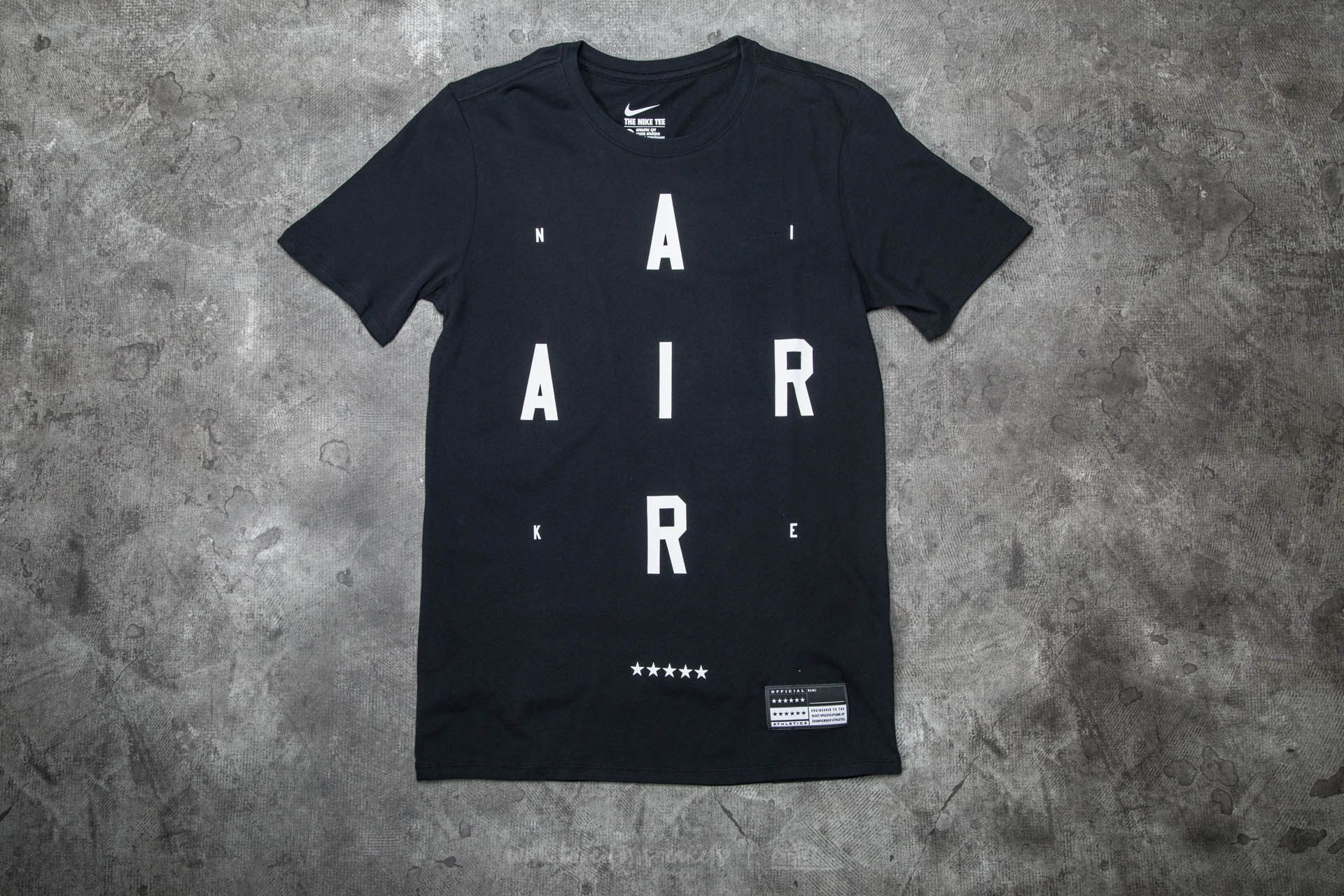 Nike Air Brand Mark 2 Tee Black Footshop – FR
