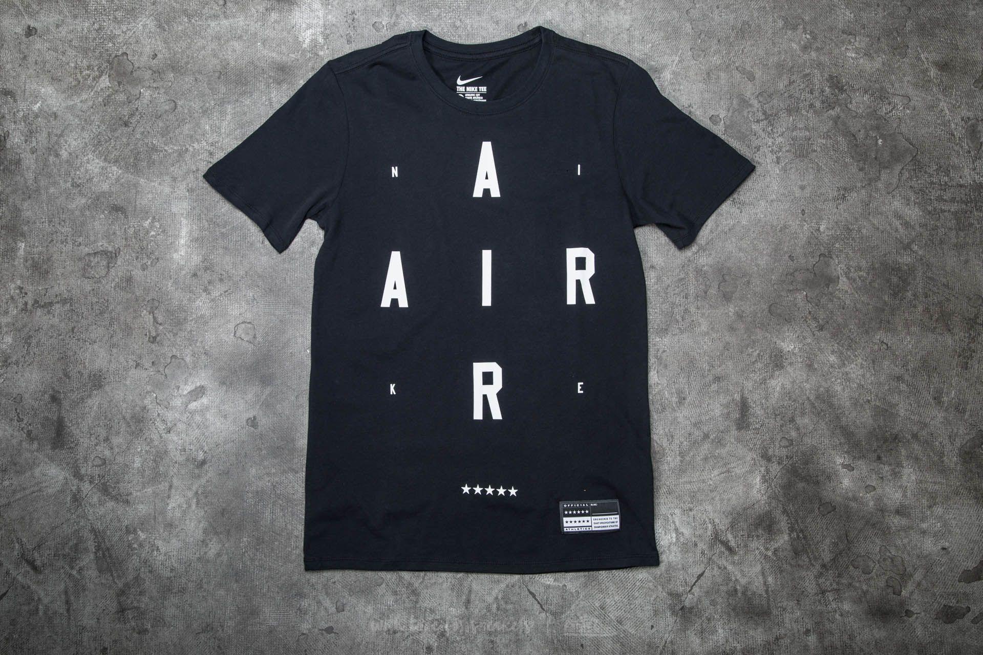Nike Air Brand Mark 2 Tee Black