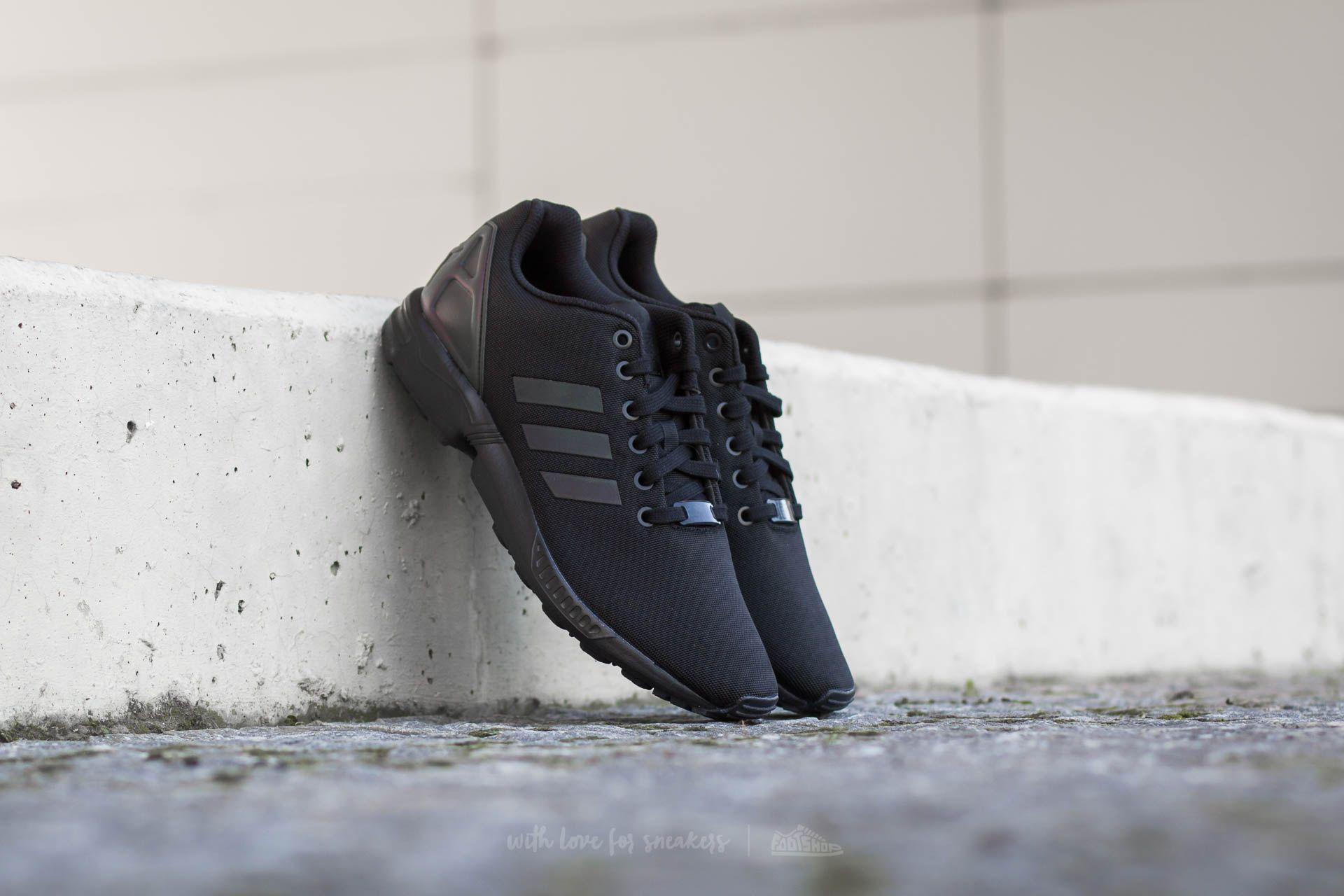 adidas ZX Flux Core Black/ Core Black/ Core Black Footshop – FR