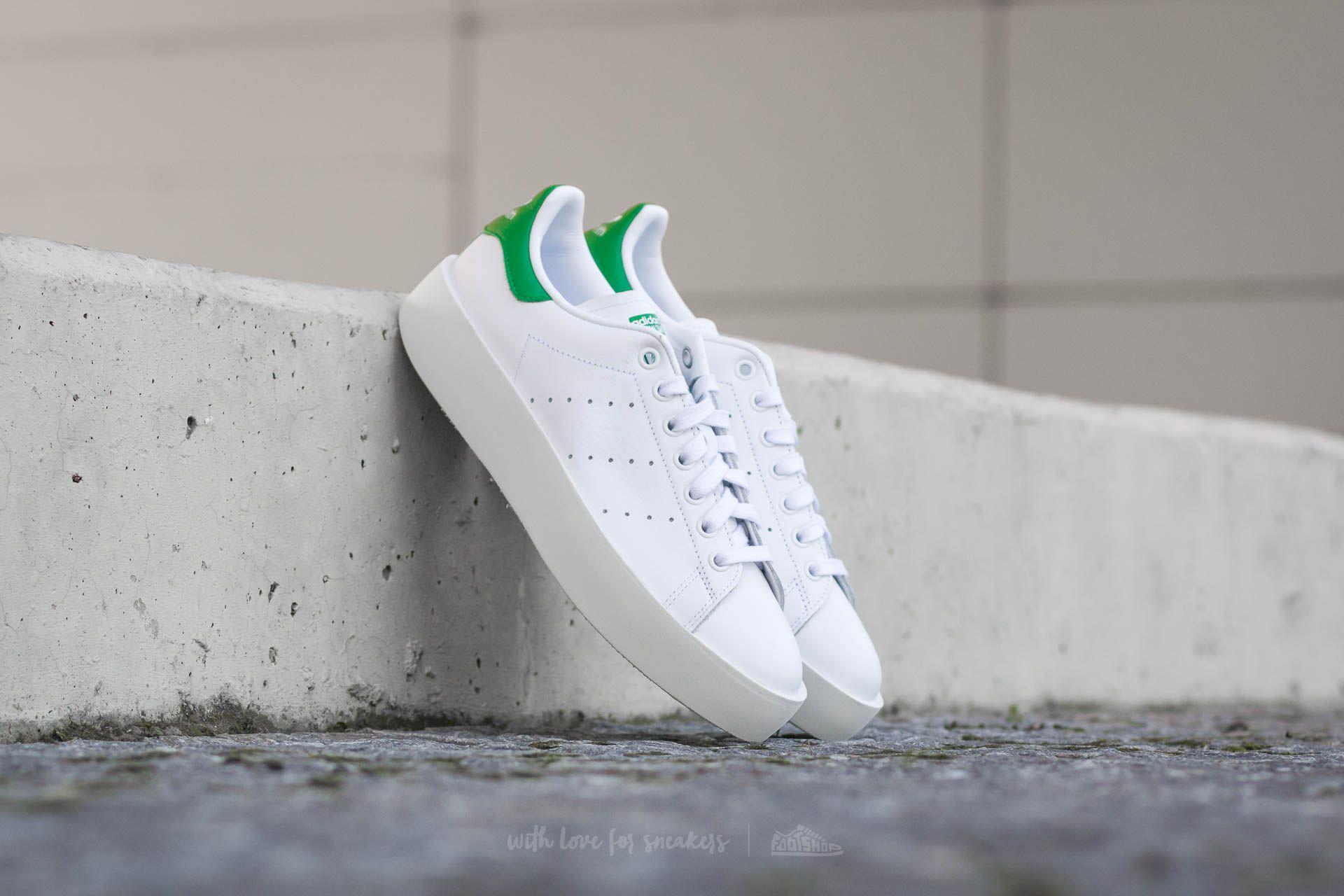 adidas Stan Smith Bold W Ftw White/ Ftw White/ Green Footshop – FR
