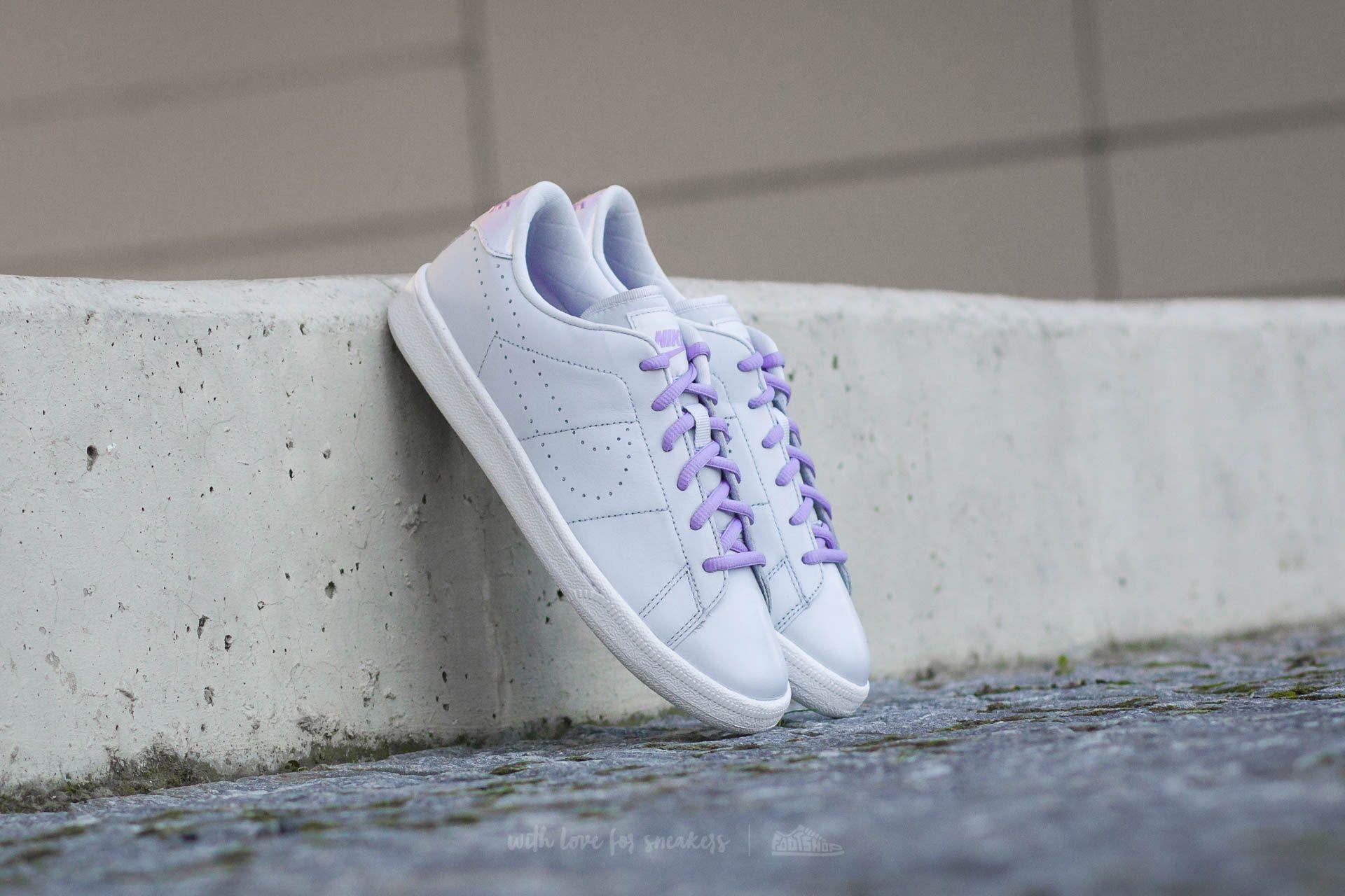Nike Tennis Classic Premium SE GS Pure Platinum/ Urban Lilac-White Footshop – FR