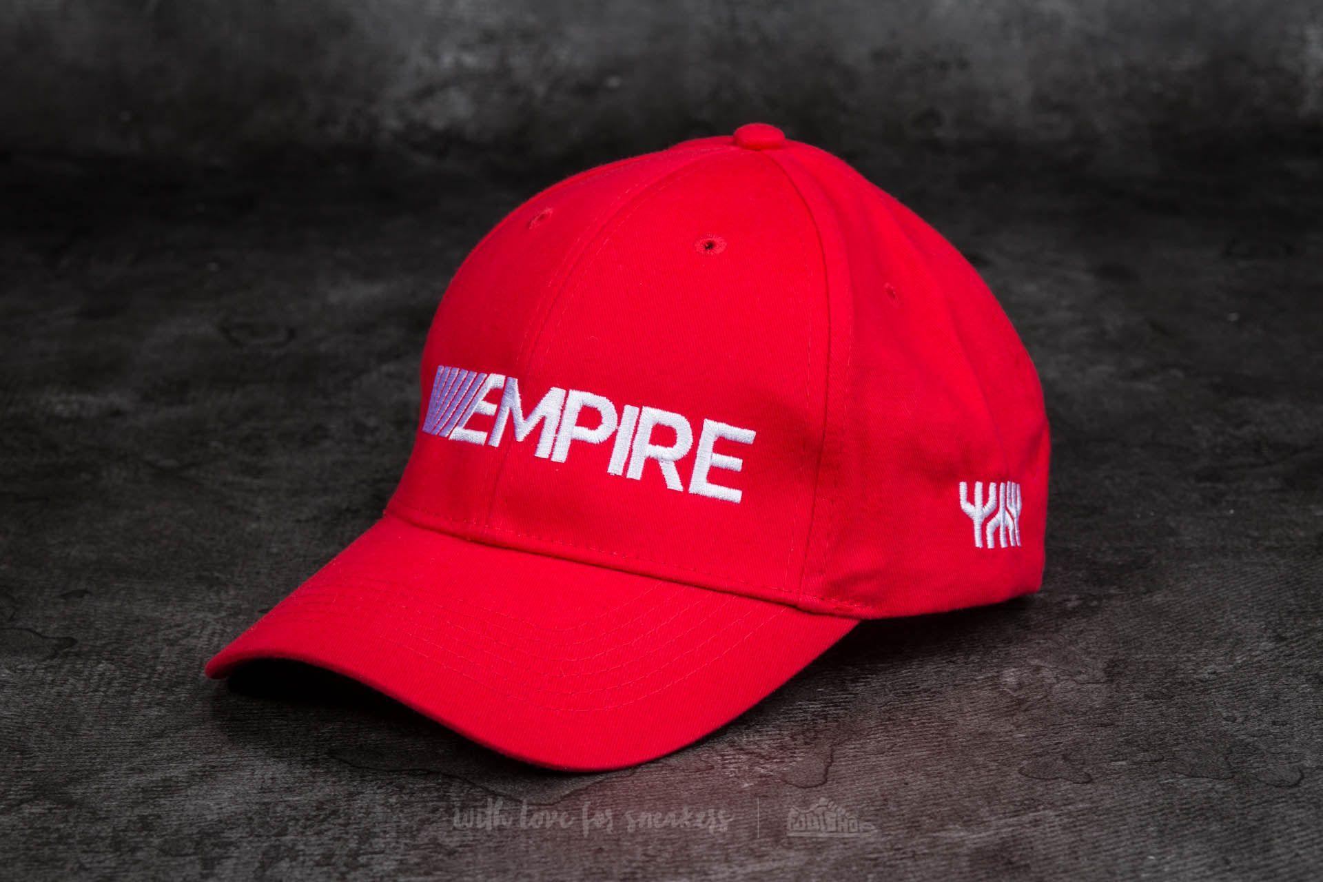 Footshop x YZO Cap Red/ White