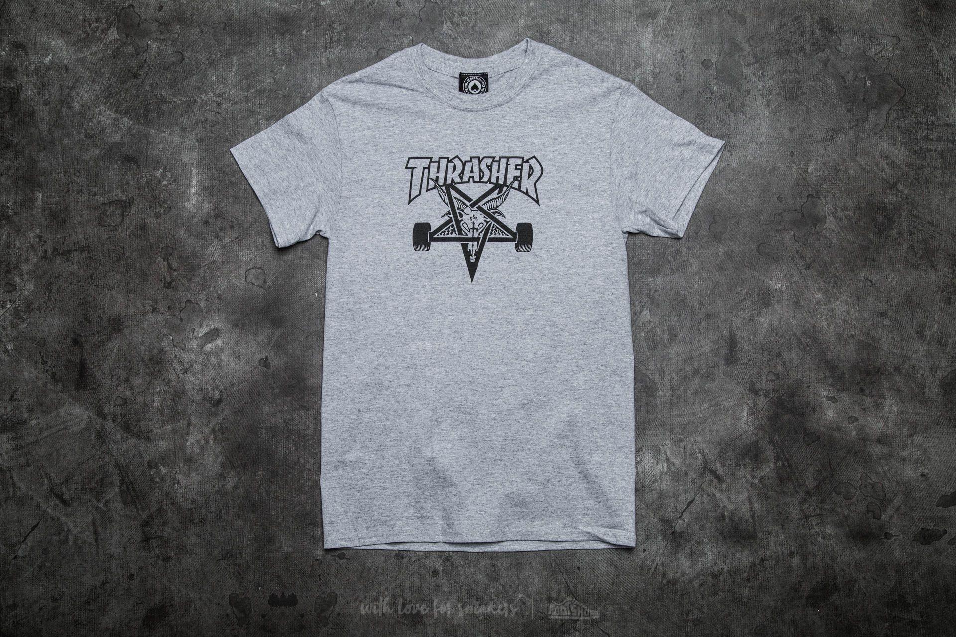 Thrasher Skategoat T-Shirt Gray Footshop – FR