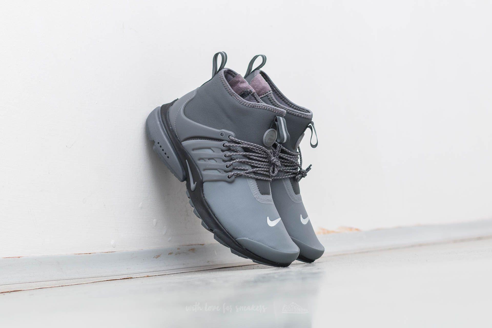 Nike W Air Presto Mid Utility Dark Grey/ Dark Grey Footshop – FR