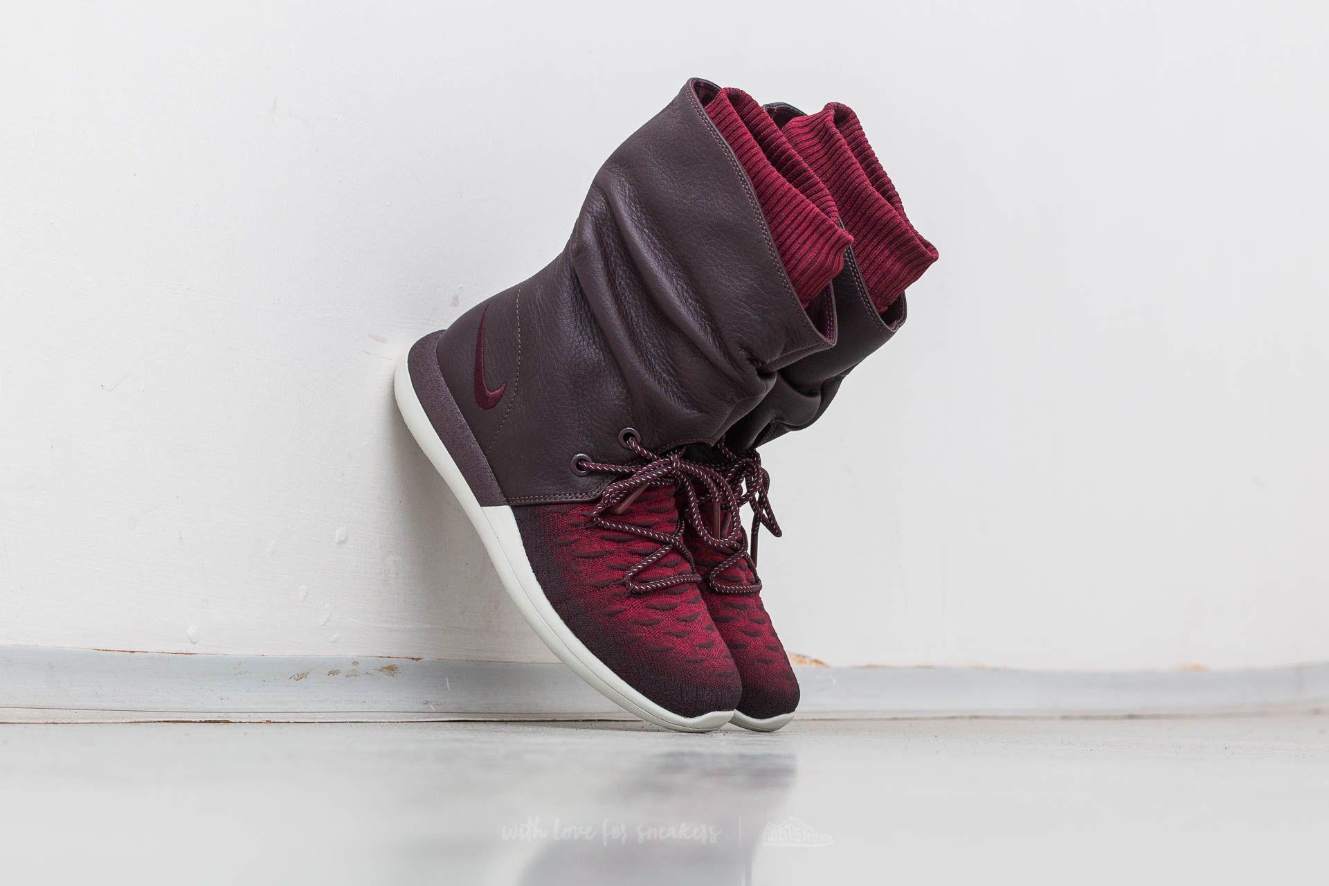 Nike W Roshe Two Hi Flyknit Deep Burgundy/ Deep Burgundy