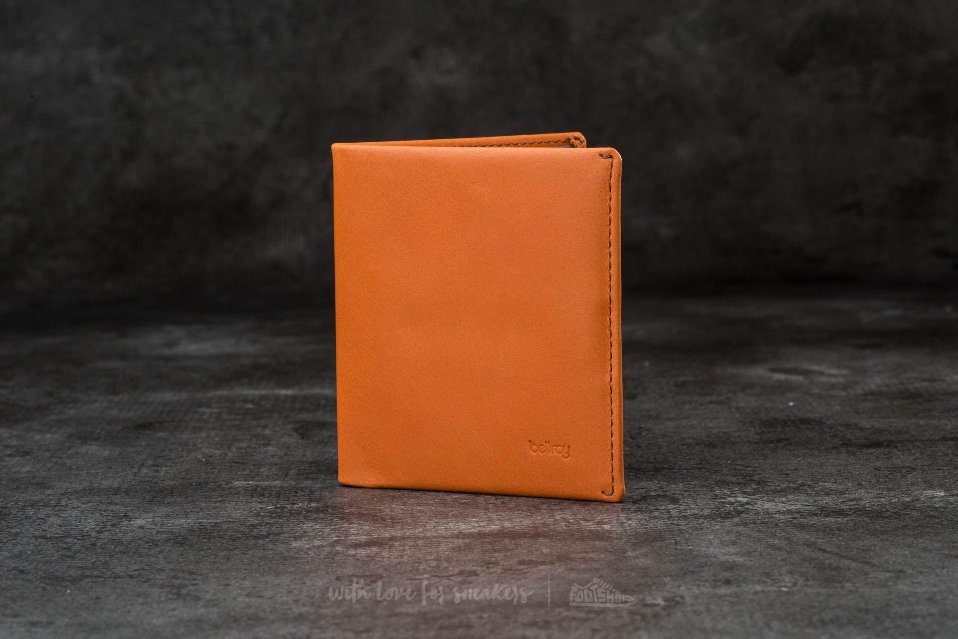 Bellroy Note Sleeve Wallet Burnt Orange