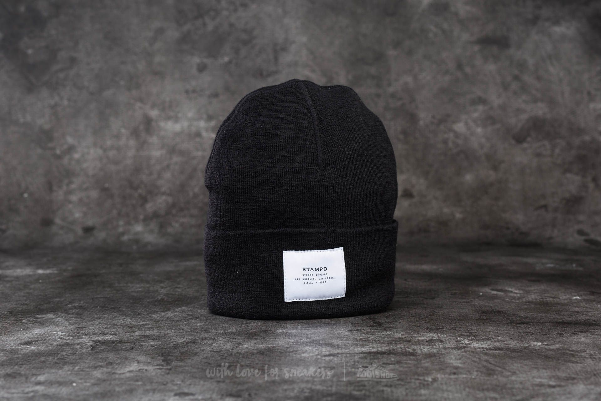 STAMPD Watch Cap Black
