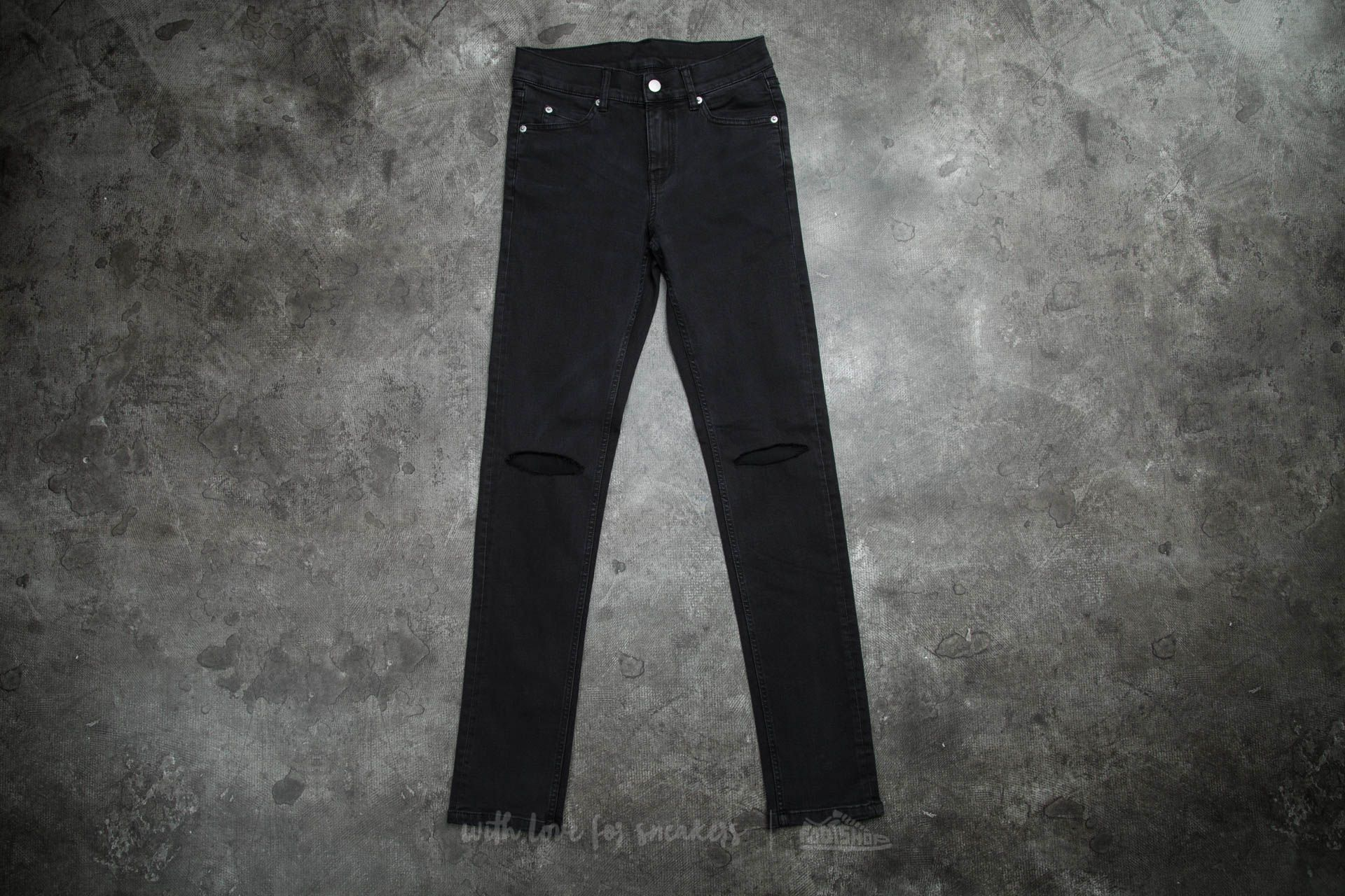 Cheap Monday Tight Jeans Cut Grey