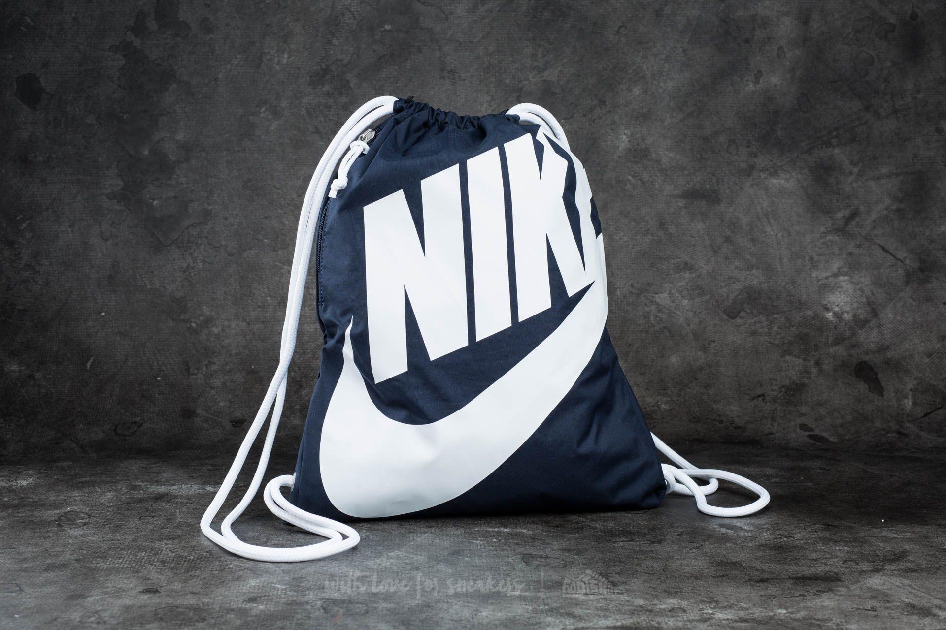 Nike Sportswear Heritage Gymsack Blue/ White/ White
