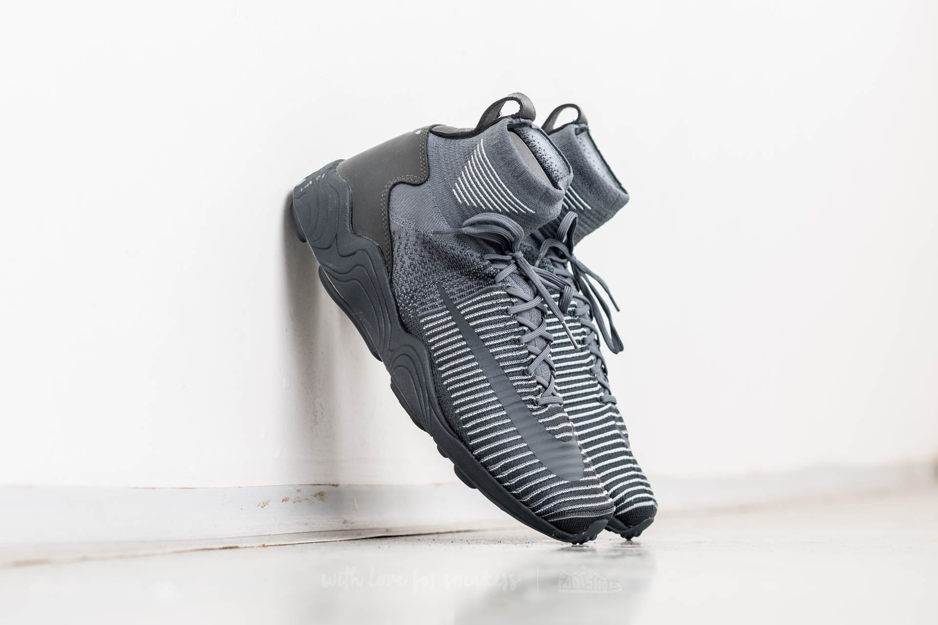 Nike Zoom Mercuial XI Flyknit Dark Grey/ Anthracite-Wolf Grey Footshop – FR