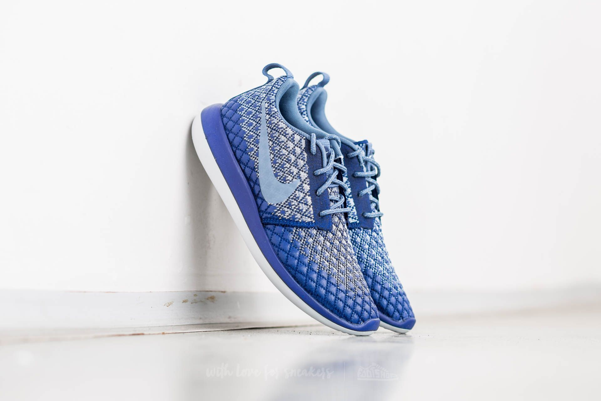 Nike W Roshe Two Flyknit 365 Deep Royal Blue/ Ocean Fog Footshop – FR
