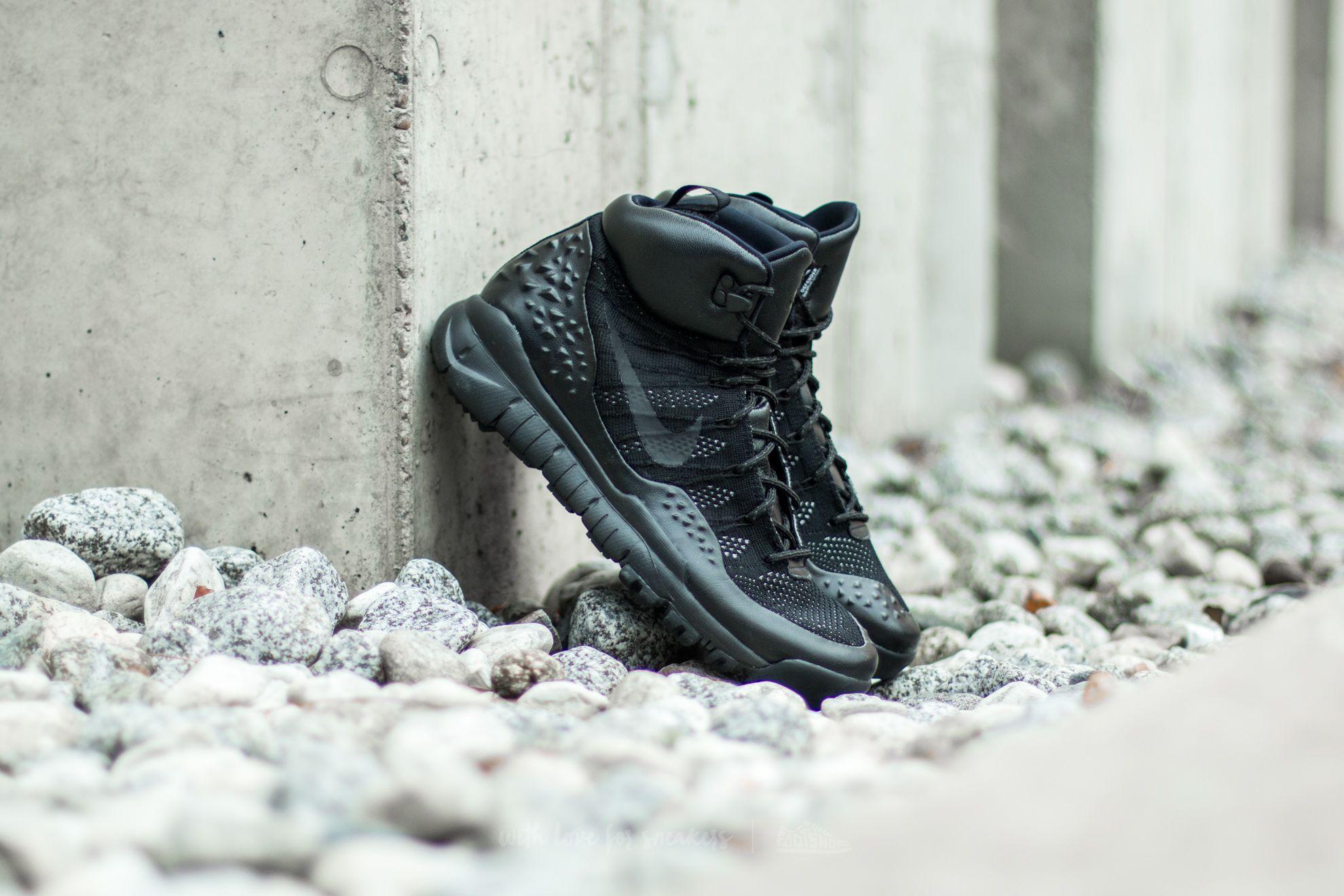 Nike Lupinek Flyknit Black/ Black-Anthracite Footshop – FR