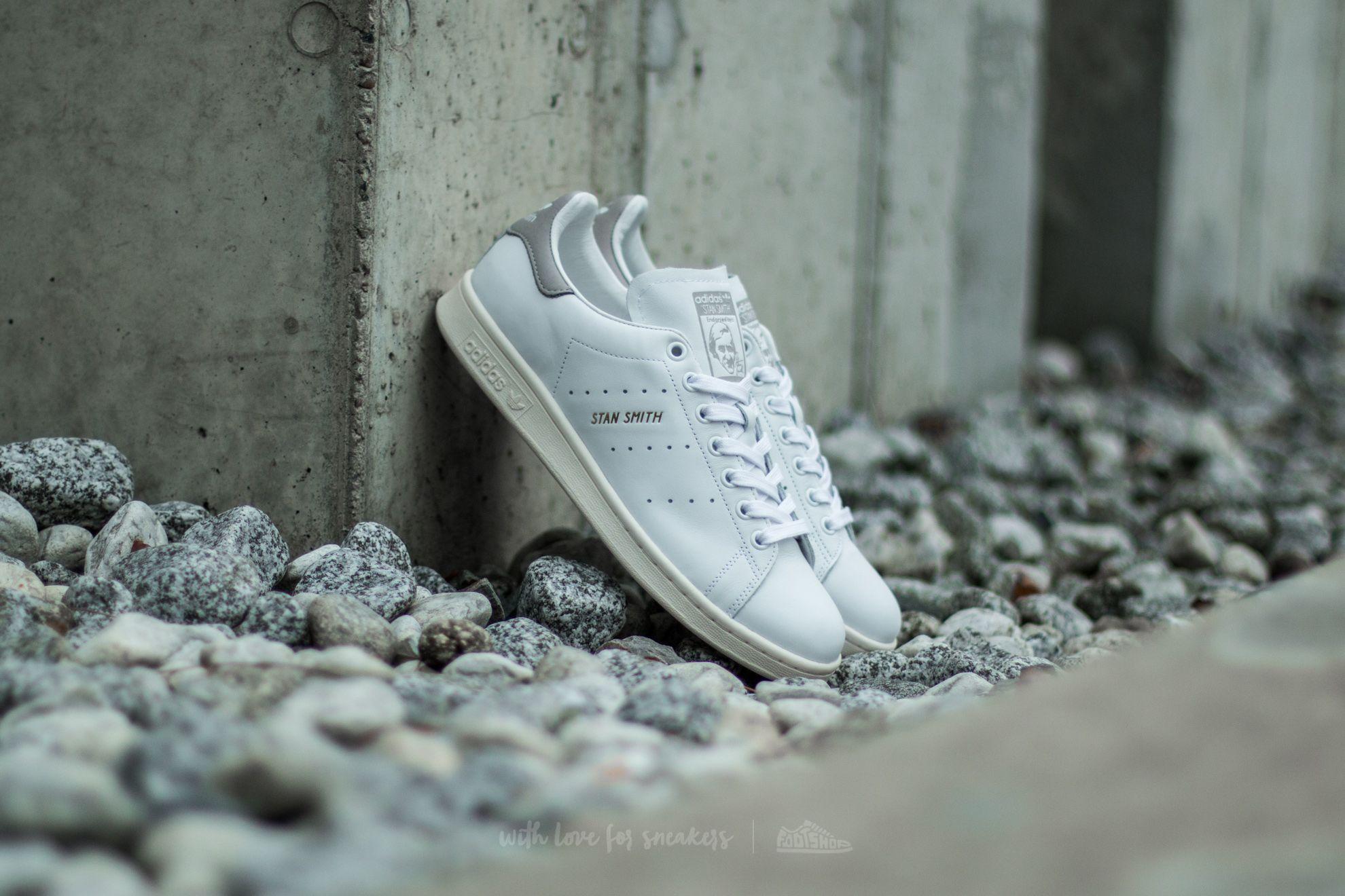 adidas Stan Smith Ftw White/ Ftw White/ Clear Granite Footshop – FR