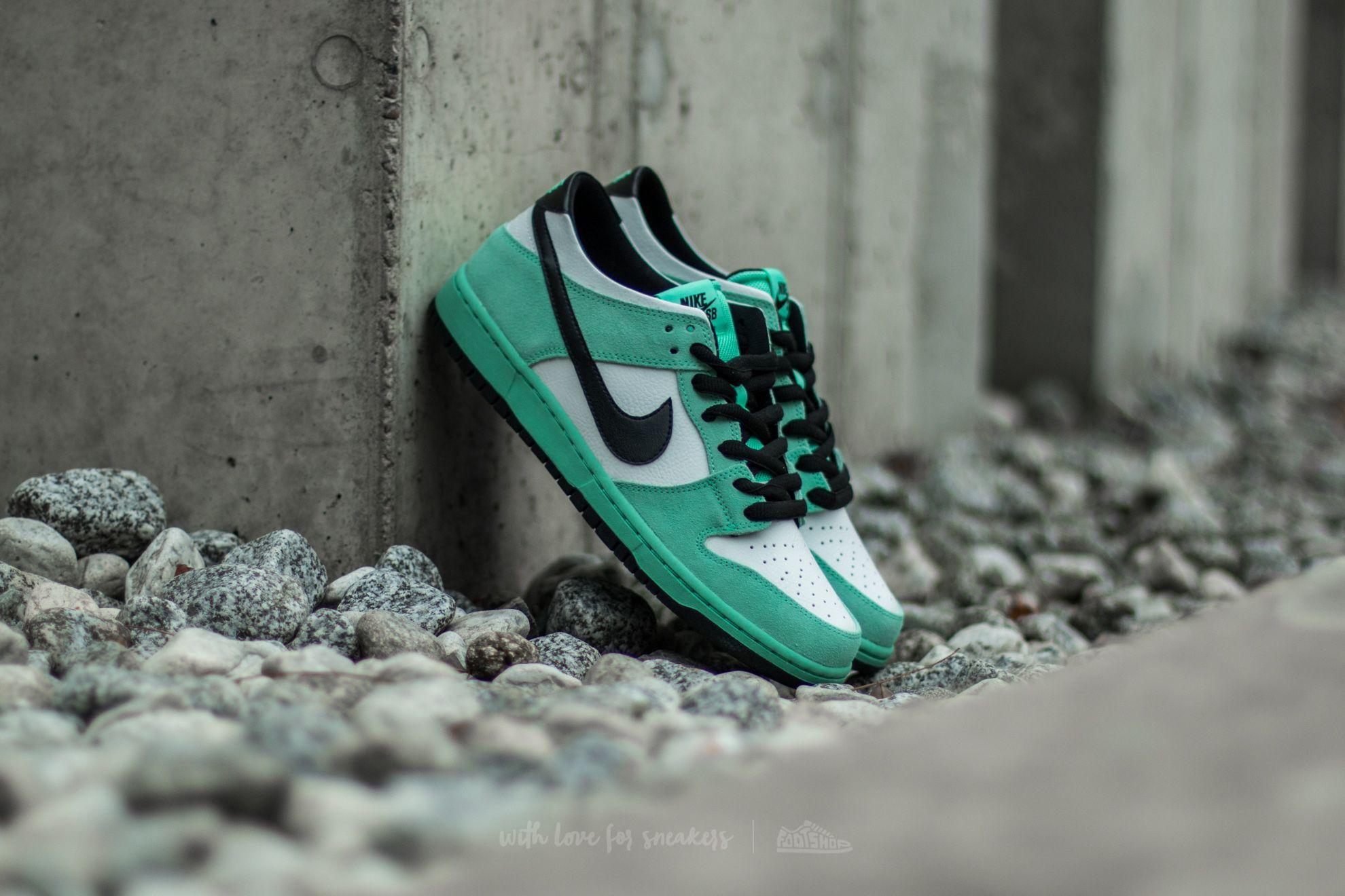 Nike Dunk Low Pro IW Green Glow/ Black-Summit White