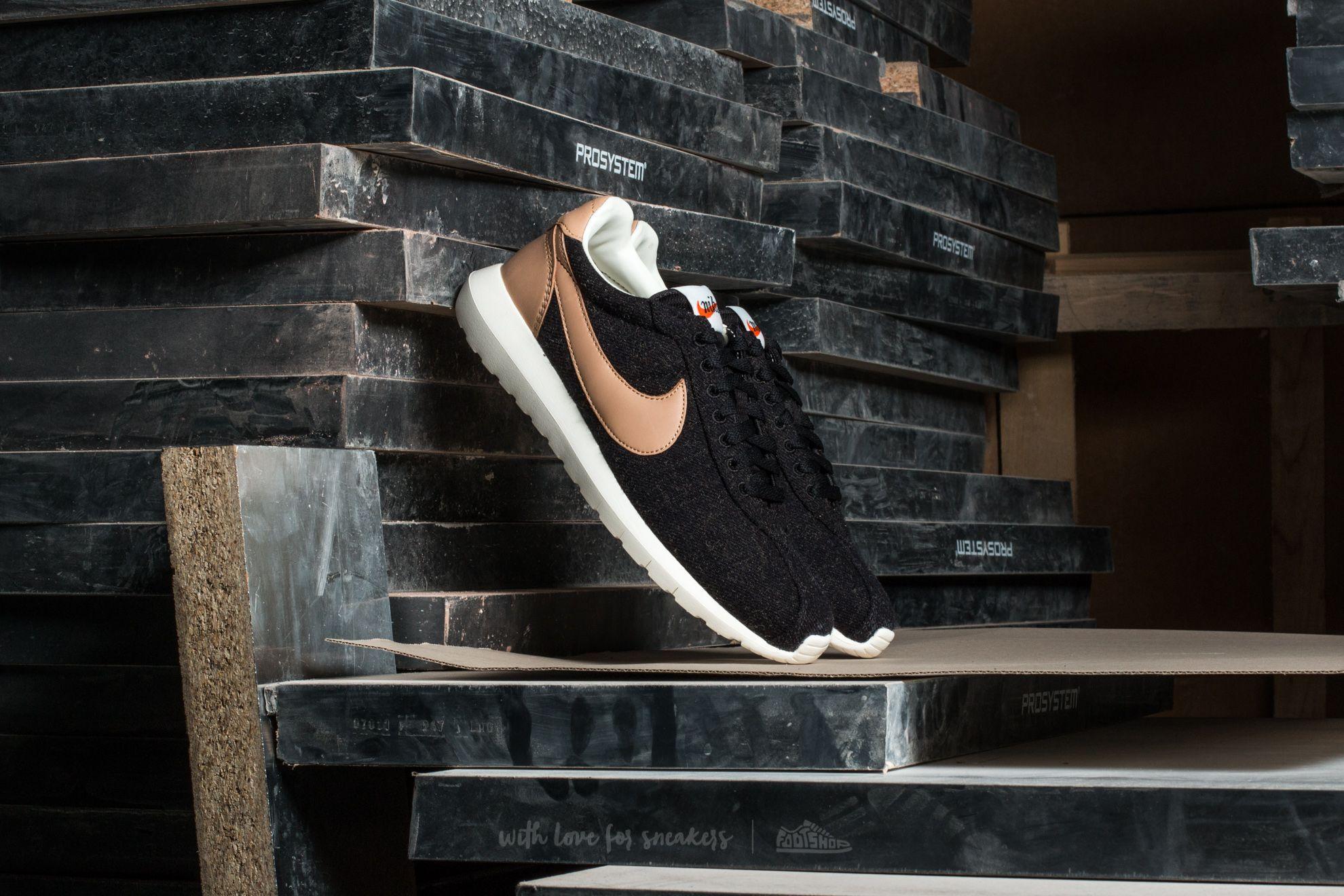 Nike Roshe LD-1000 Black/ Vachetta Tan-Sail
