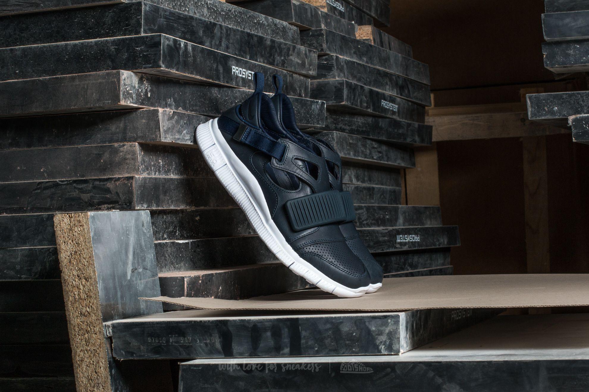 Nike Free Huarache Carnivore SP Obsidian/ White-Catalina-Black