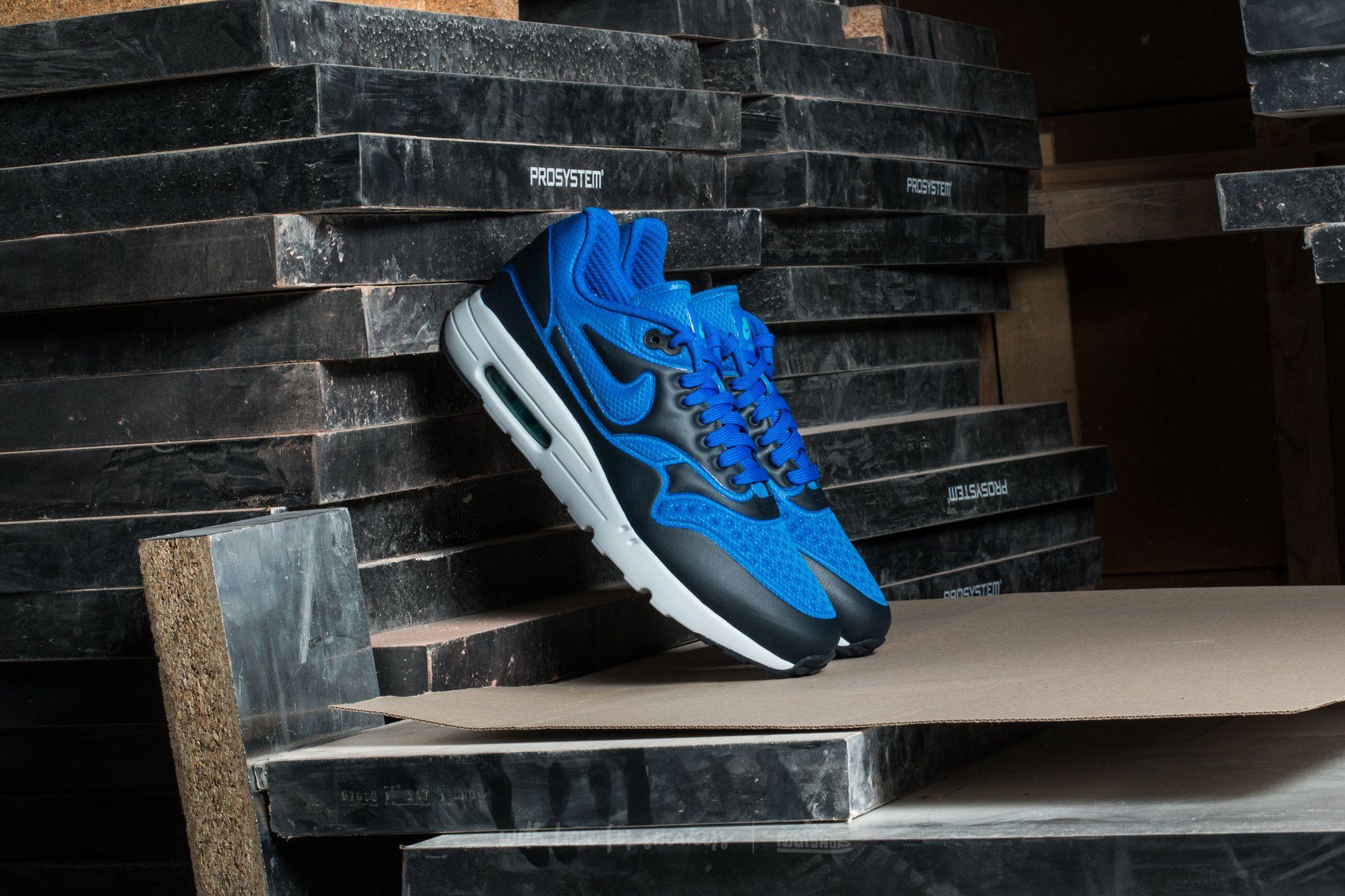 Nike Air Max 1 Ultra SE Hyper Cobalt/ Dark Obsidian Footshop – FR