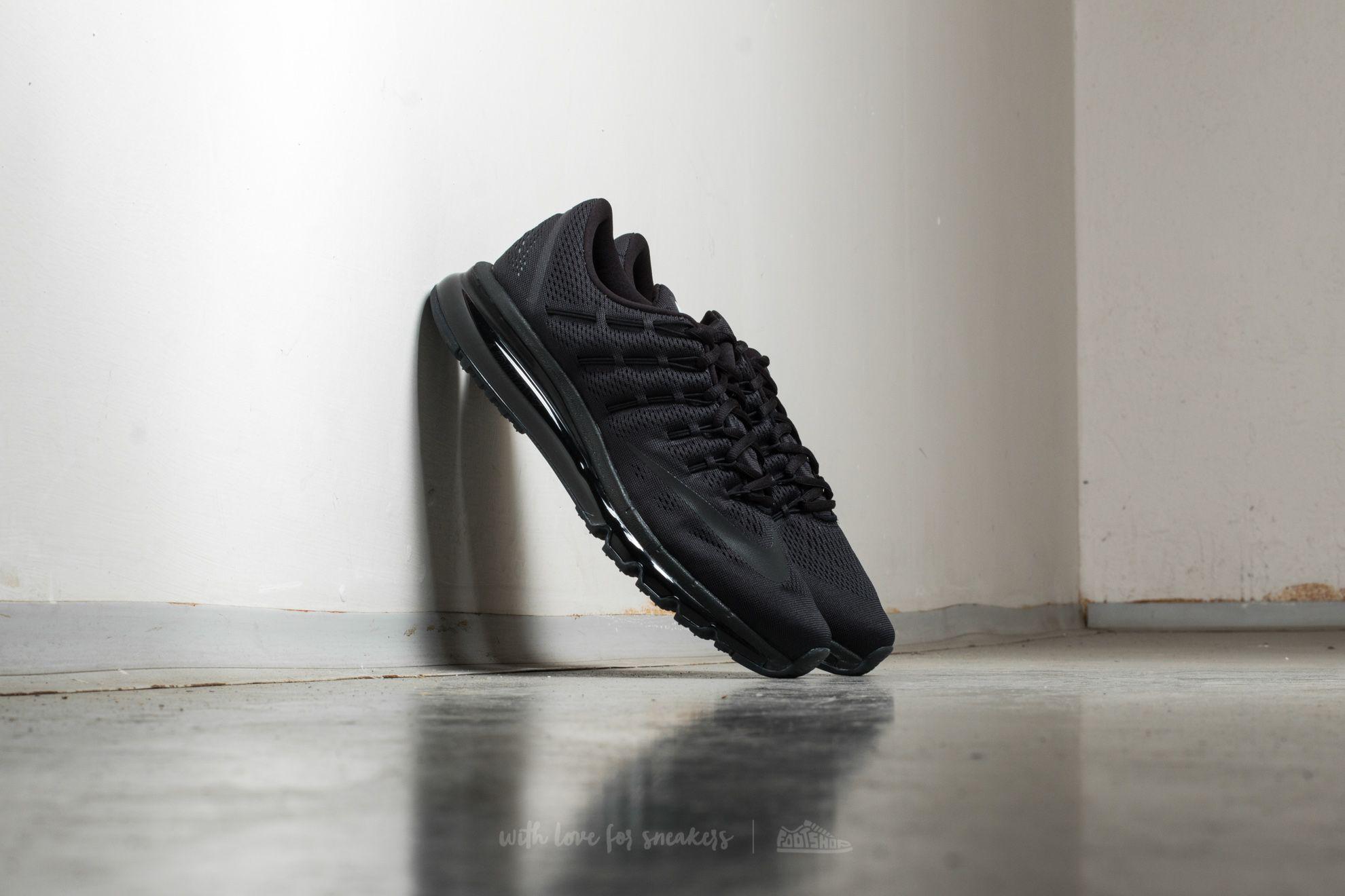 Nike Air Max 2016 Black/ Black-Black Footshop – FR