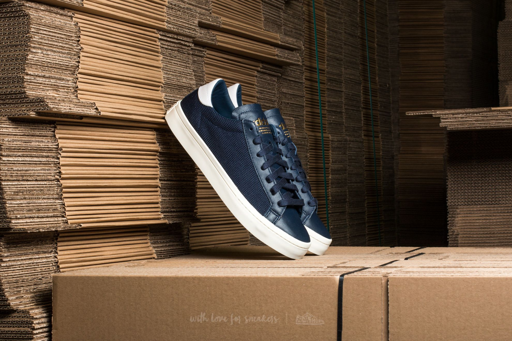 adidas Court Vantage Collegiate Navy/ Collegiate Navy/ Ftw White Footshop – FR