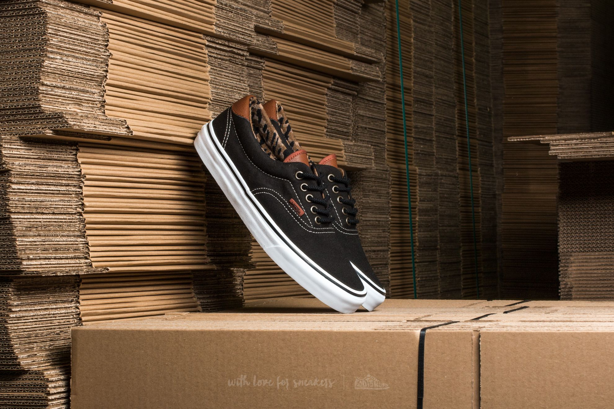 Vans Era 59 (C&L) Black/ Italian Weave Footshop – FR
