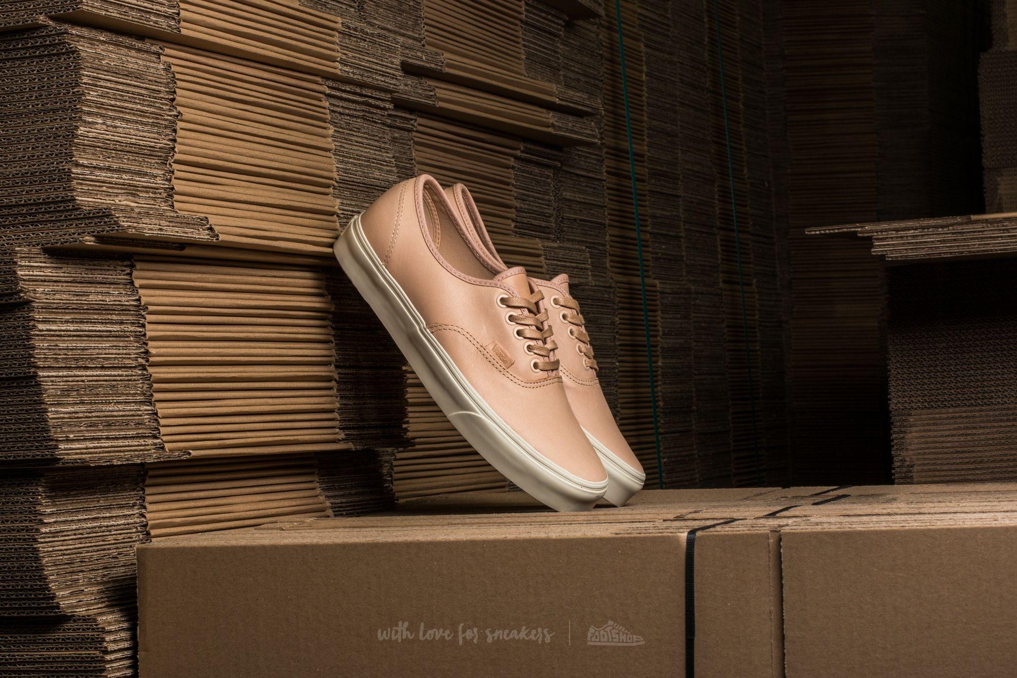Vans Authentic DX (Veggie Tan Leather) Tan