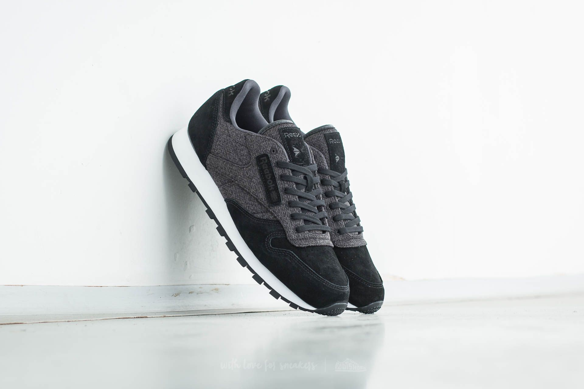 Reebok Classic Leather KSP Black/ Alloy/ White Footshop – FR
