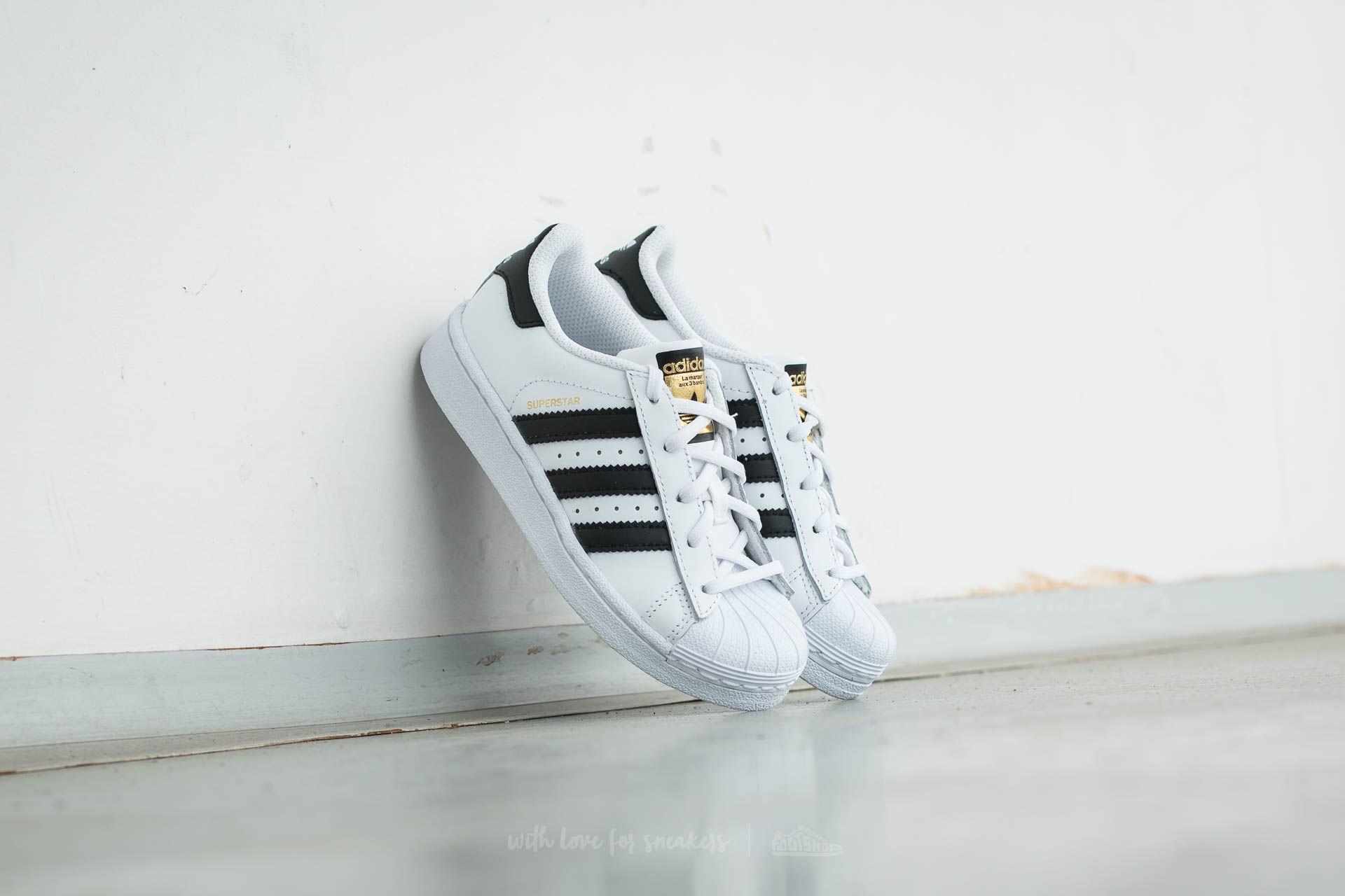 adidas Superstar Foundation C Ftw White/ Core Black/ Ftw White Footshop – FR