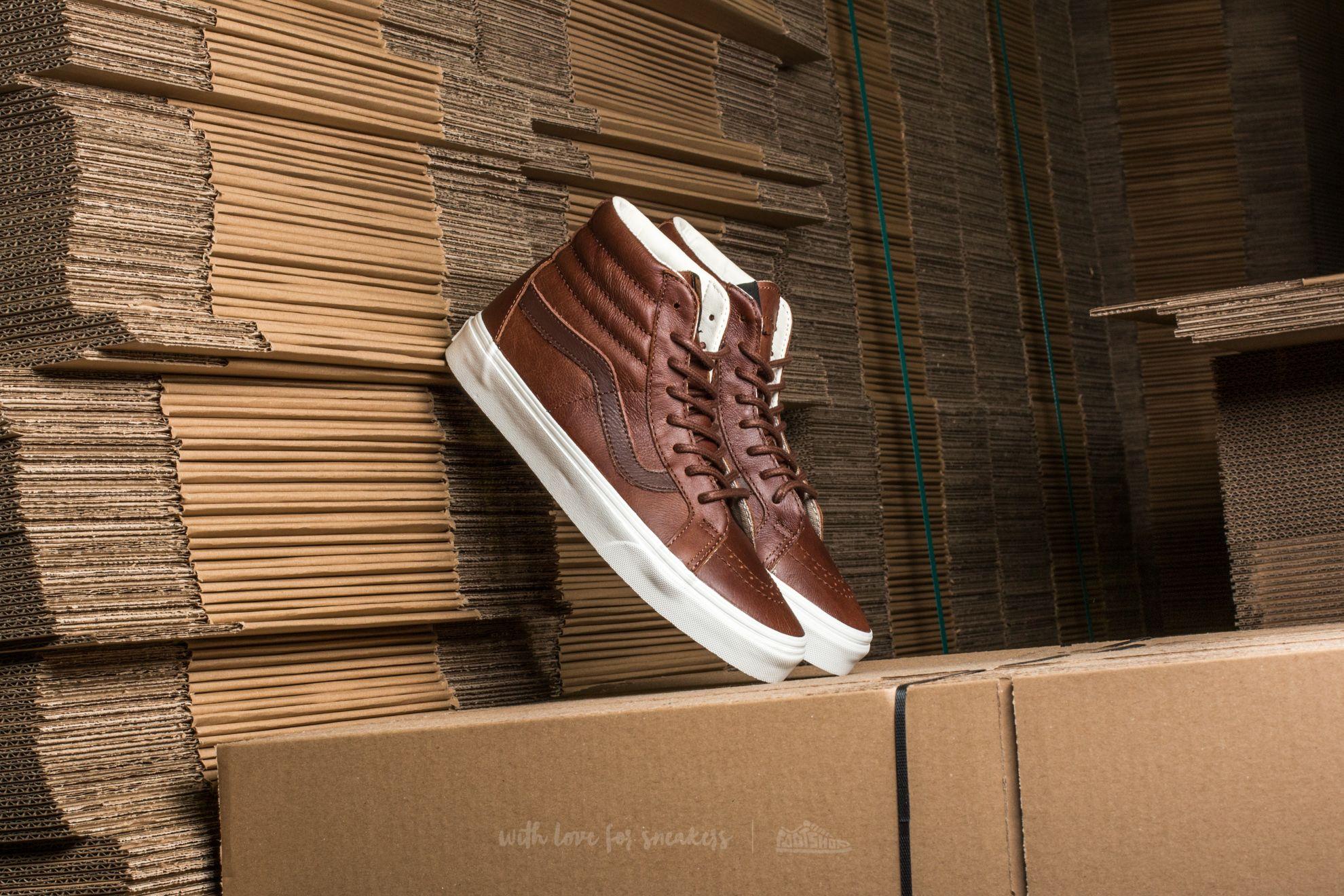 Vans SK8-Hi Reissue Leather Dachshund/ Potting Soil Footshop – FR