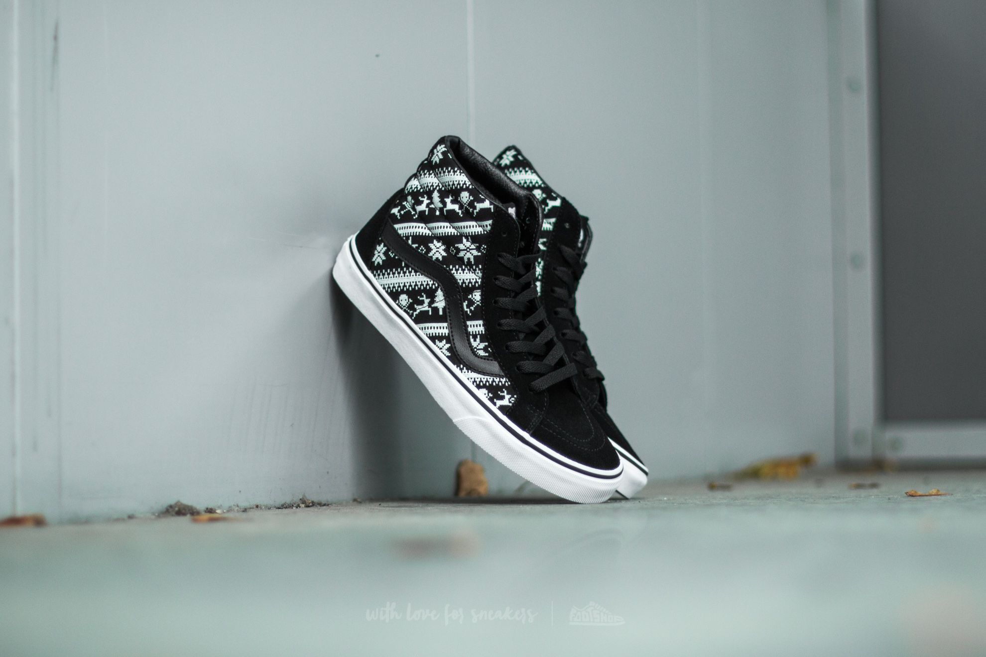 Vans Sk8-Hi Reissue Fair Isle Black/ True White